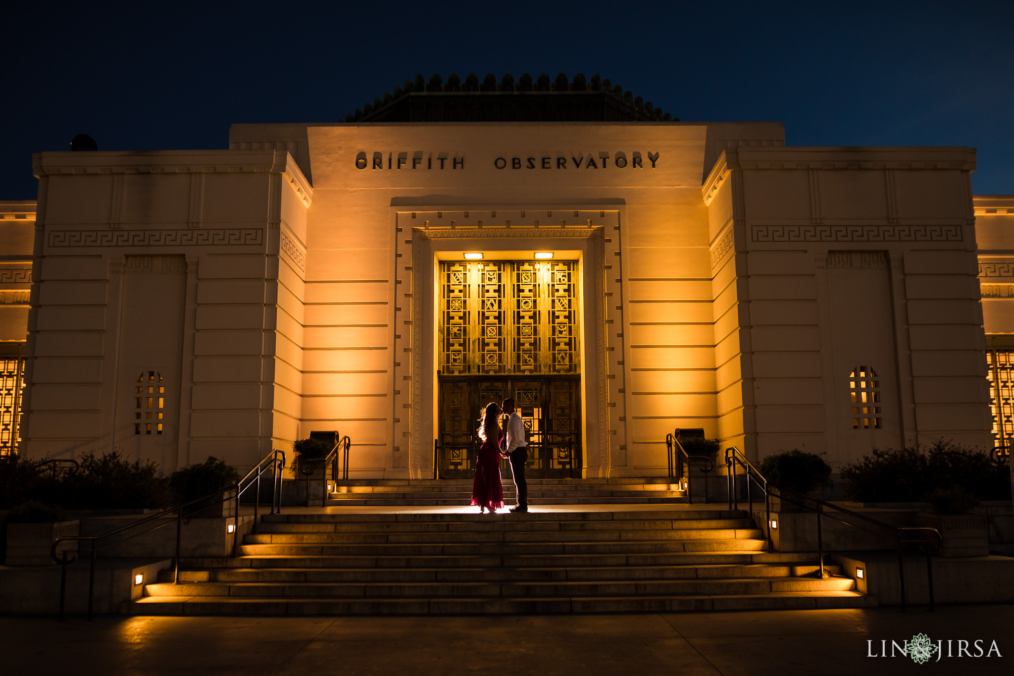 08 griffith observatory los angeles engagement photography