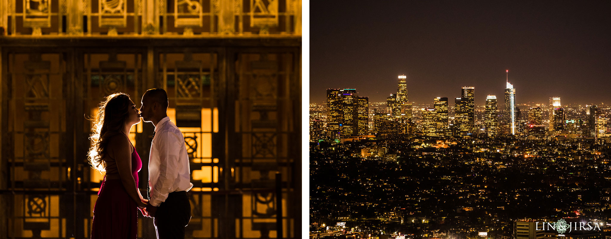 09 griffith observatory los angeles engagement photography