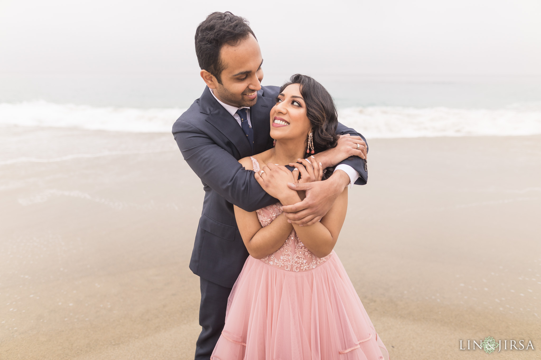 09 laguna beach sunrise private mansion engagement photography