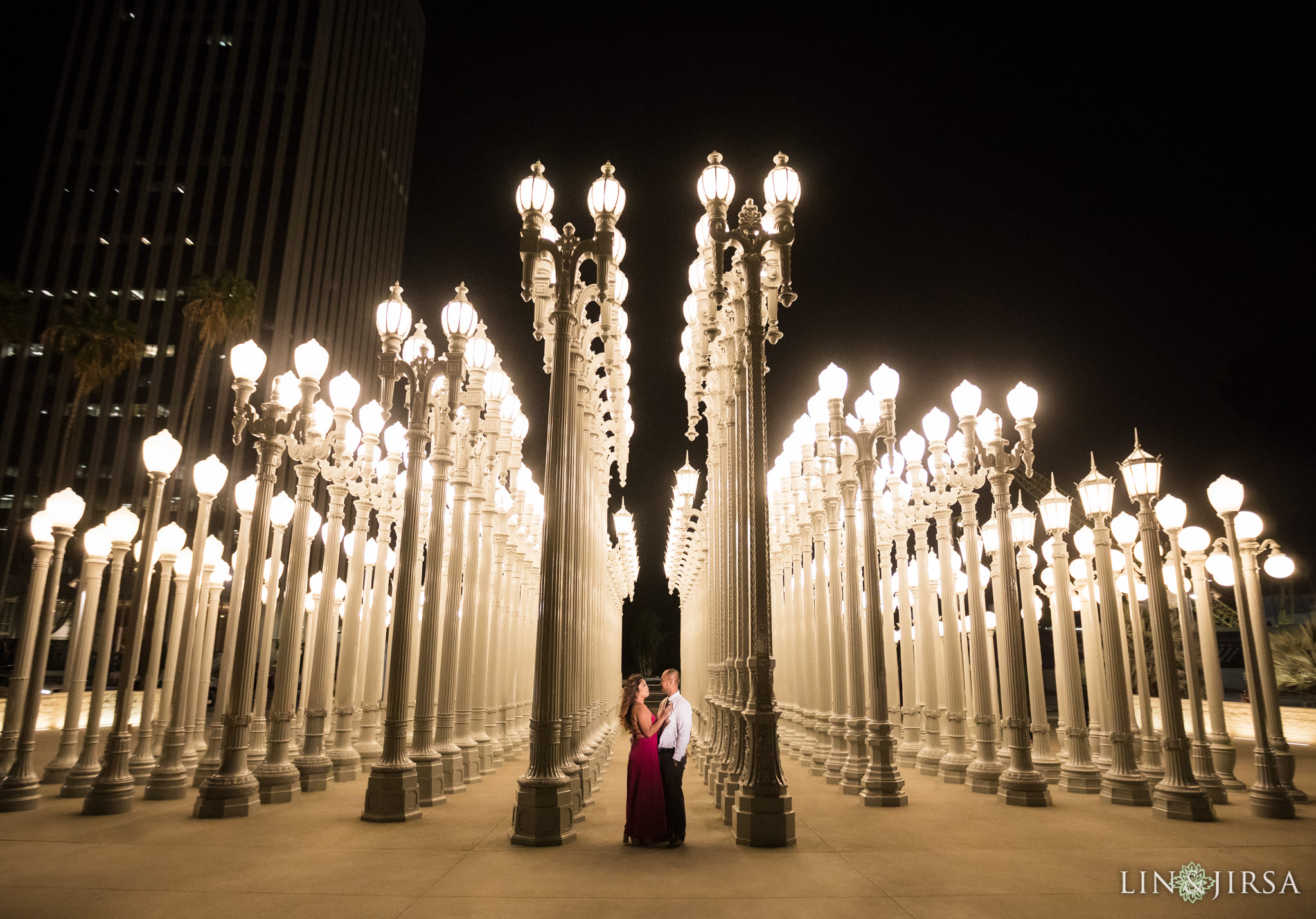 10 LACMA los angeles engagement photography