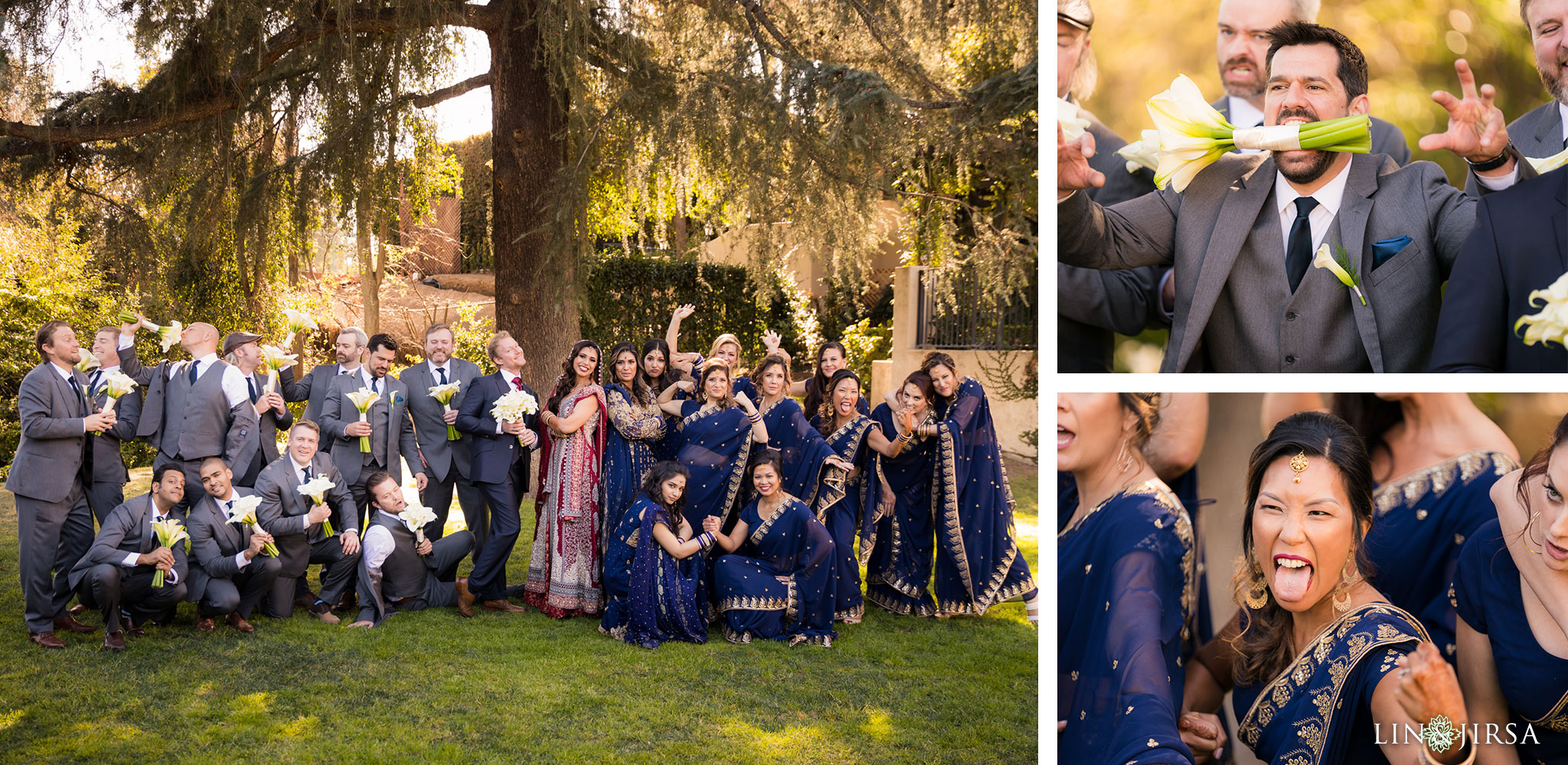 19 altadena town country club pakistani wedding party photography