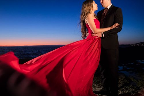 ji laguna beach engagement photography