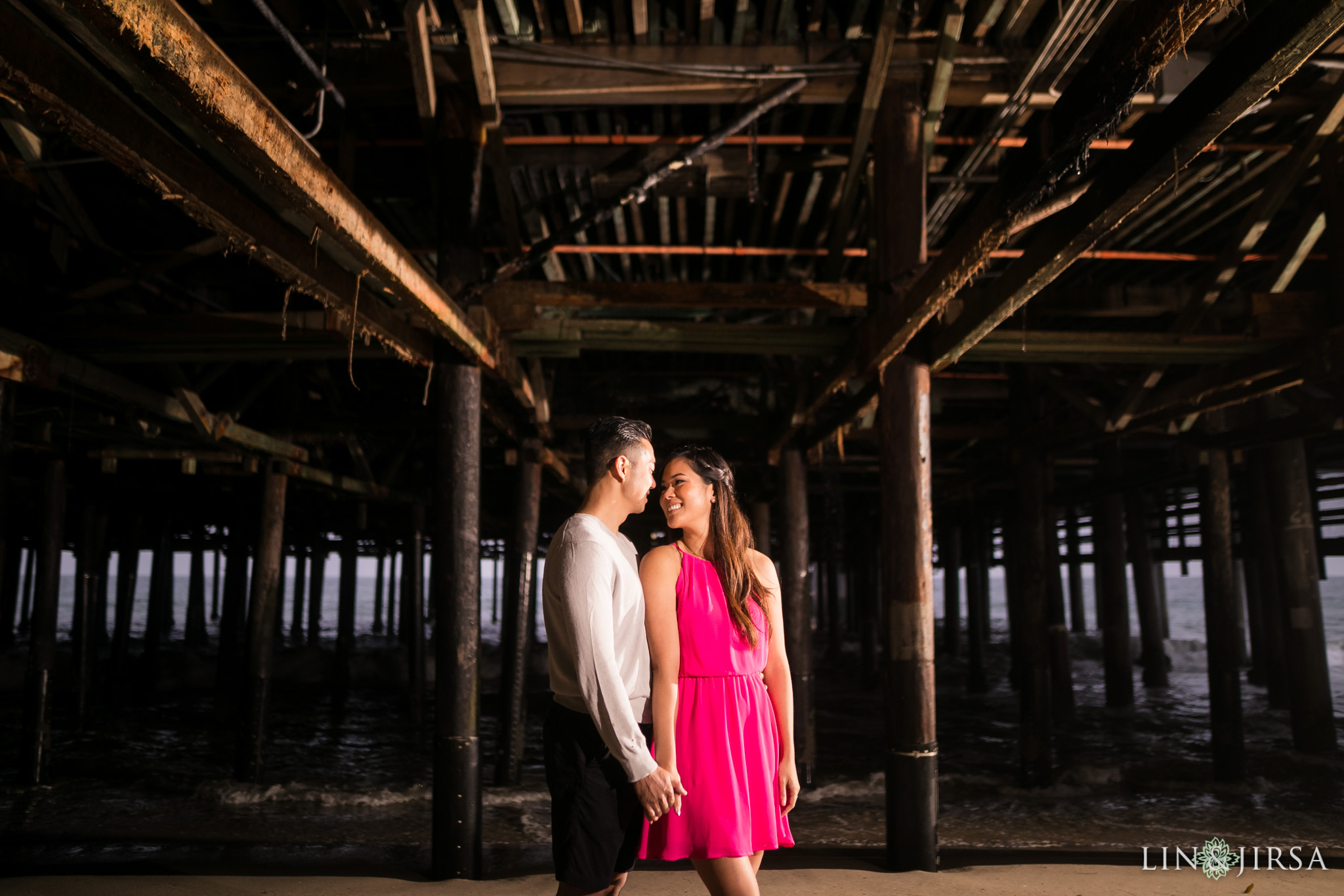 06 santa monica pier engagement photography