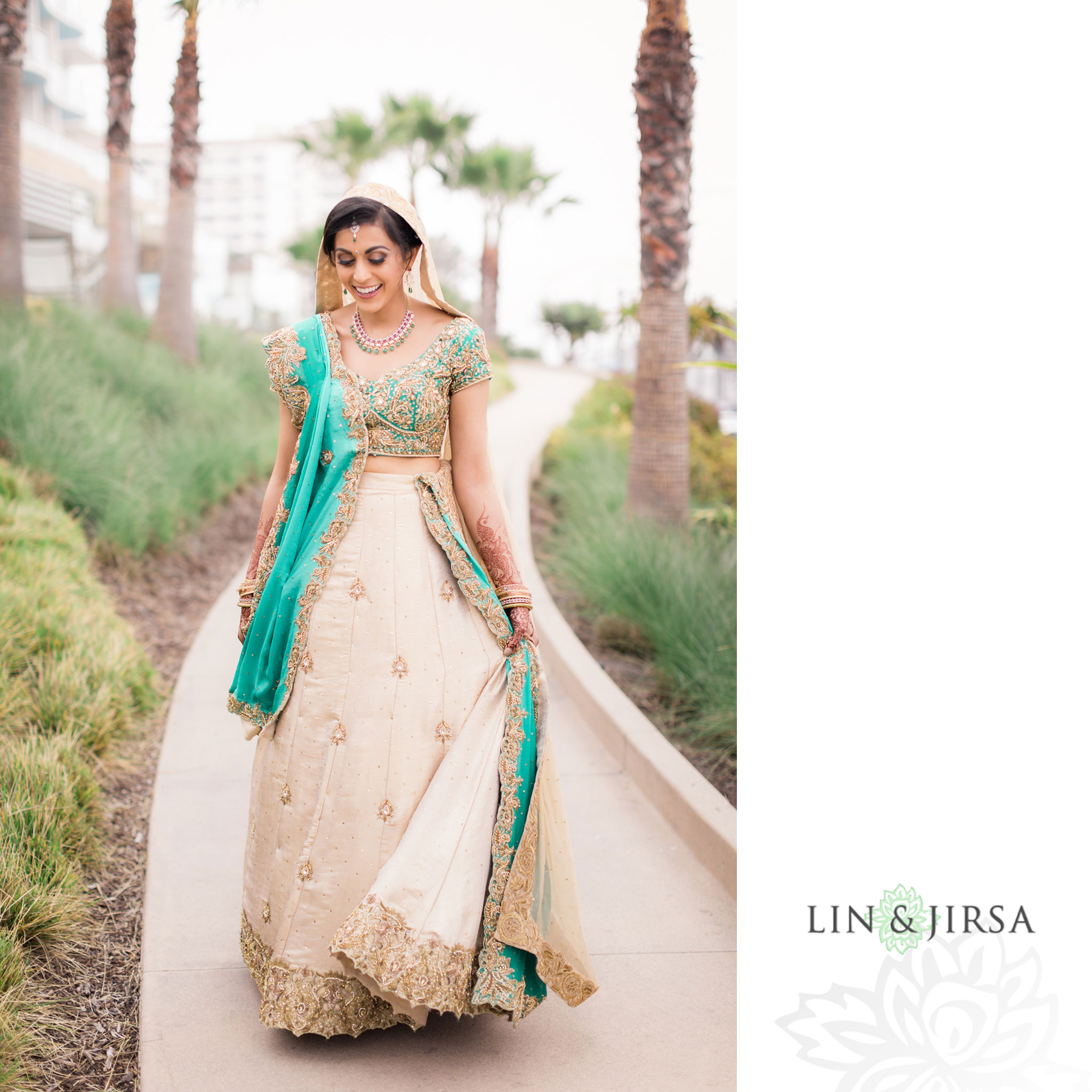 07 pasea hotel and spa huntington beach indian bride wedding photography