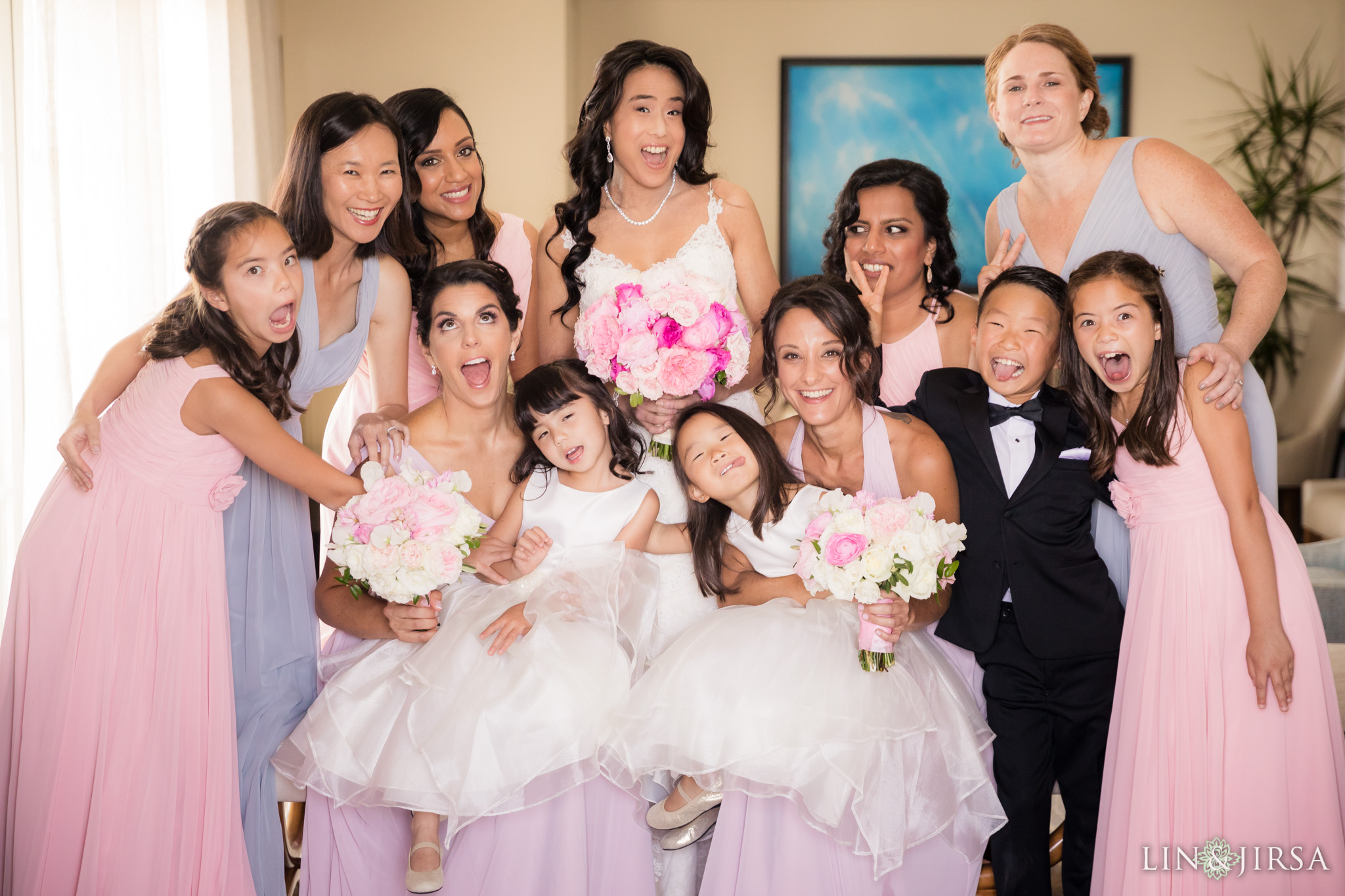 07 ritz carlton dana point wedding bridal party photography