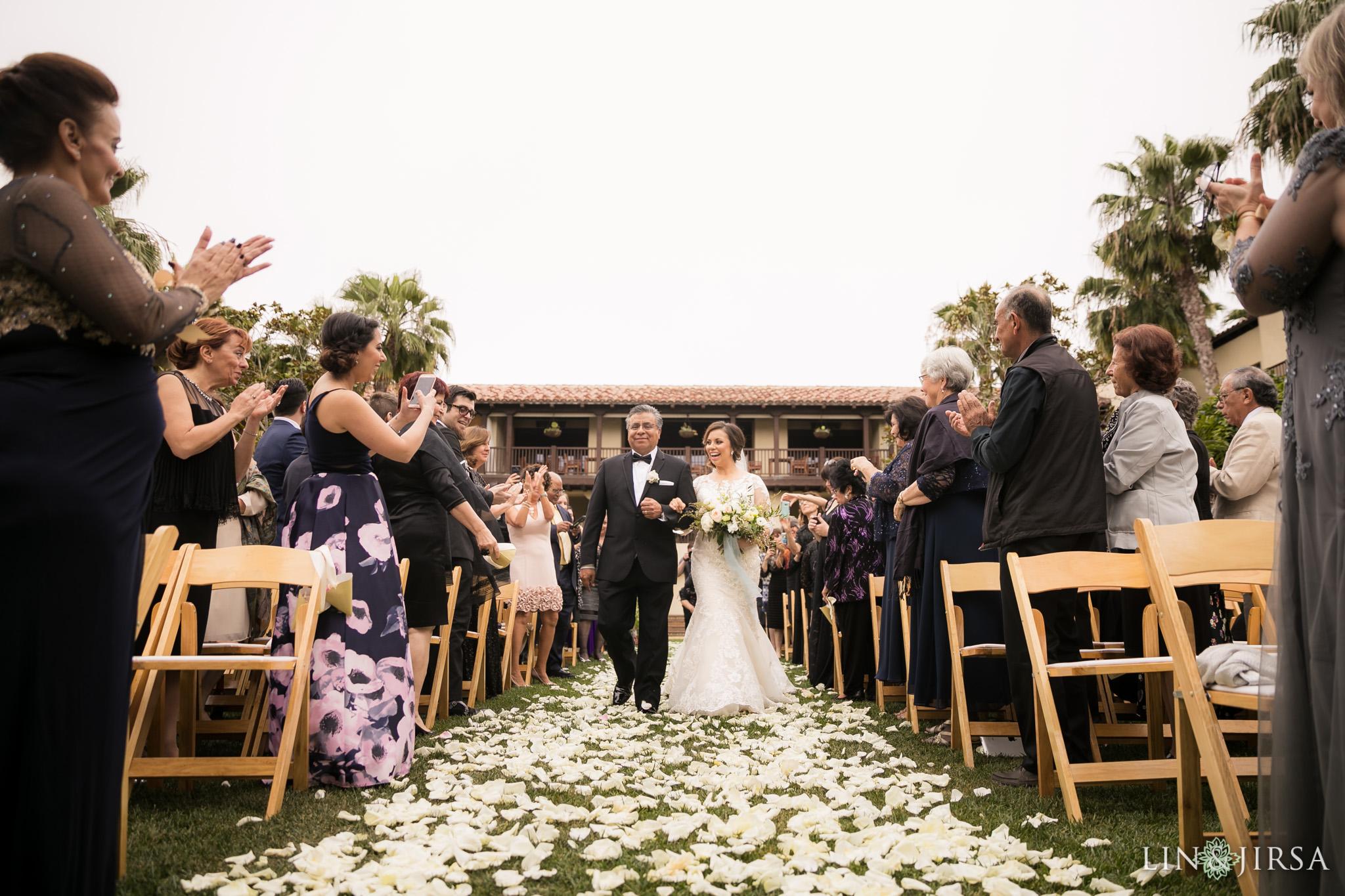 17 estancia la jolla hotel and spa wedding ceremony photography