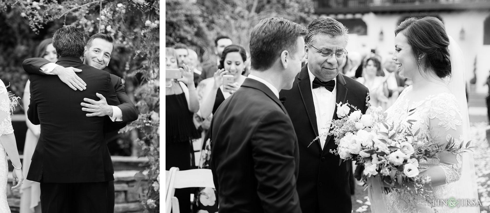18 estancia la jolla hotel and spa wedding ceremony photography
