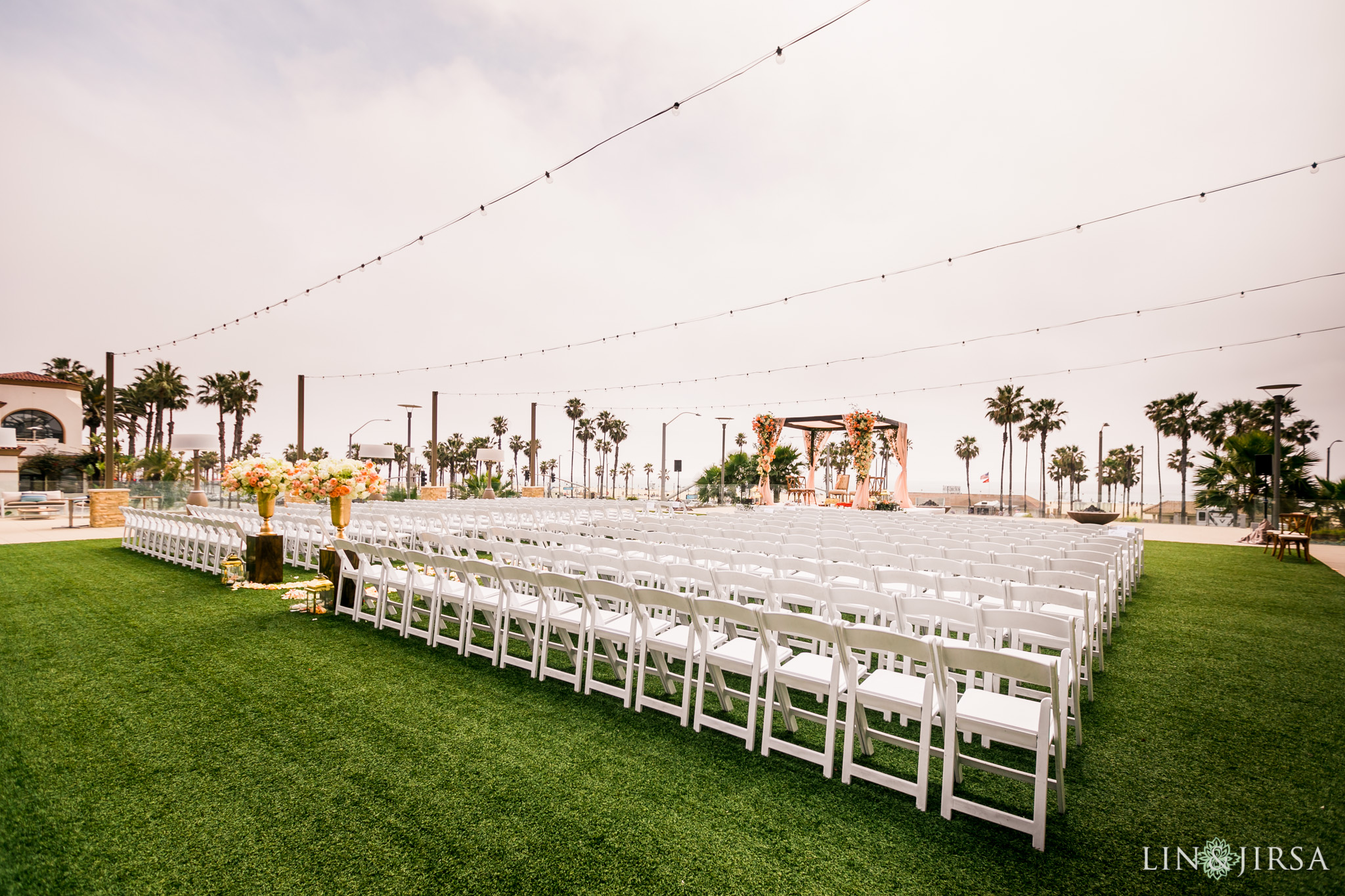 20 pasea hotel and spa huntington beach indian wedding ceremony photography