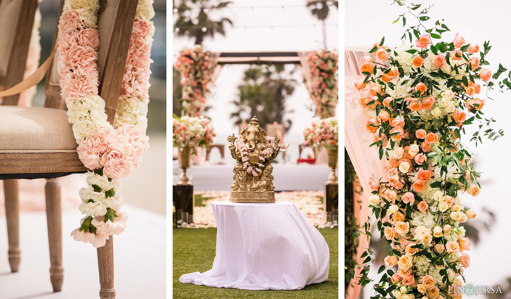 22 pasea hotel and spa huntington beach indian wedding ceremony photography