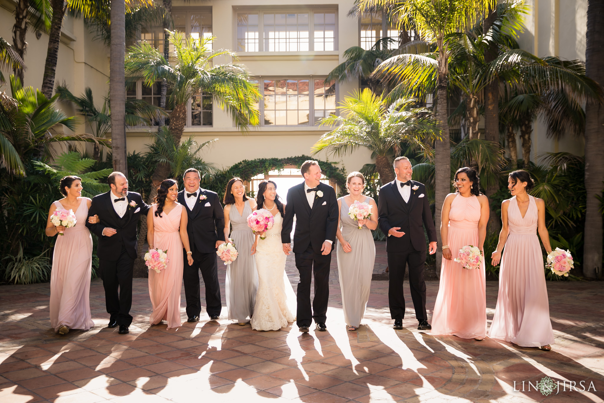 22 ritz carlton dana point wedding party photography