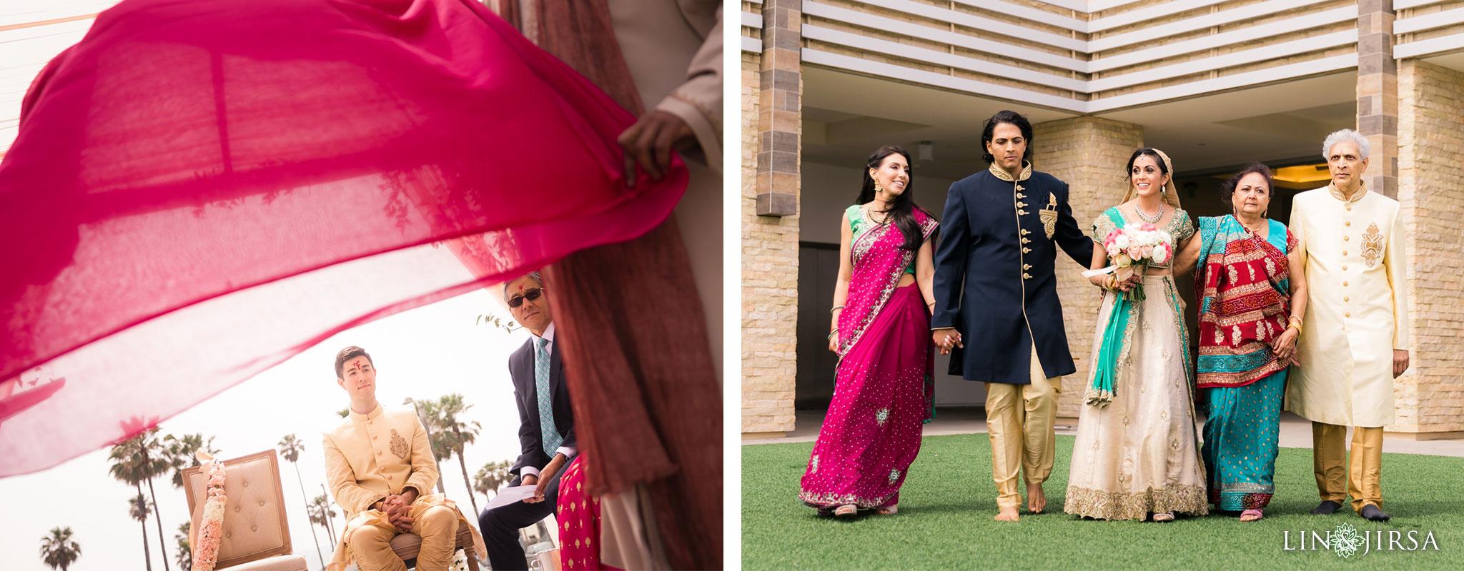 26 pasea hotel and spa huntington beach indian wedding ceremony photography