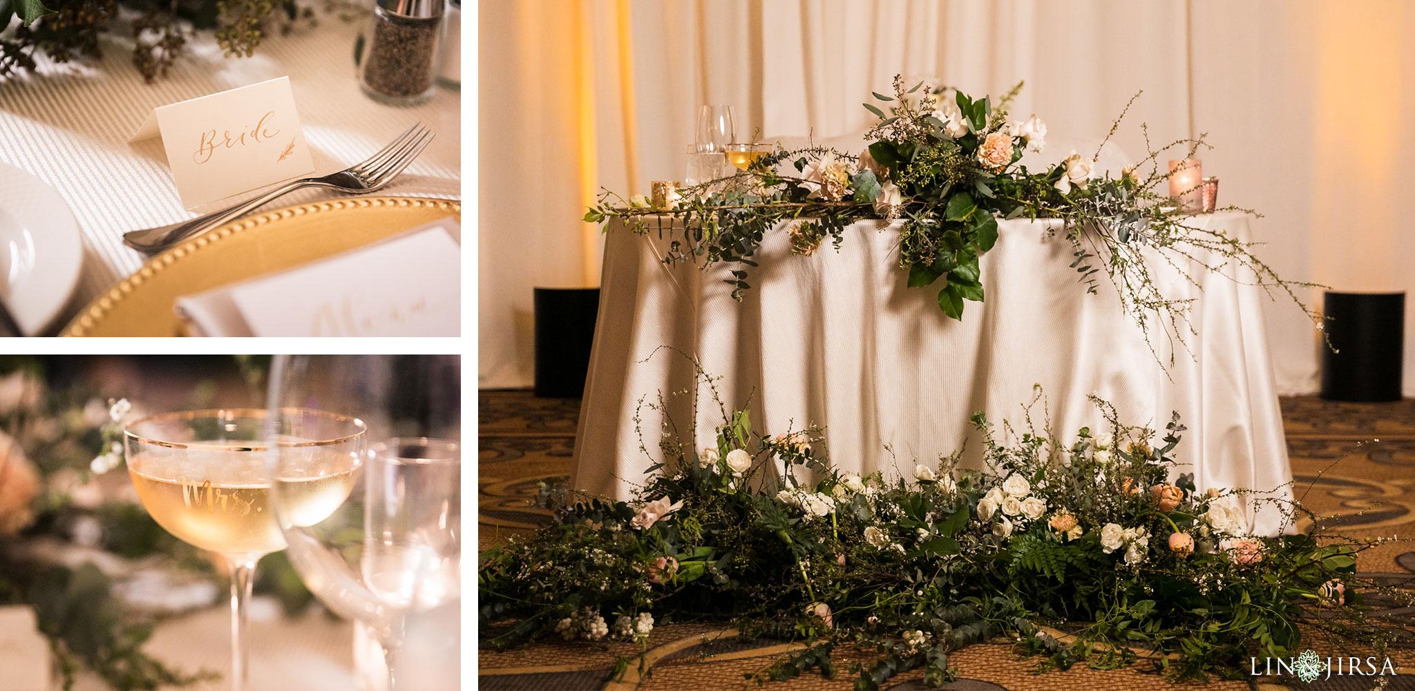 27 estancia la jolla hotel and spa wedding reception photography
