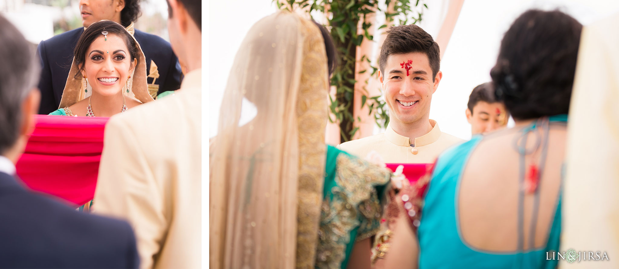 27 pasea hotel and spa huntington beach indian wedding ceremony photography
