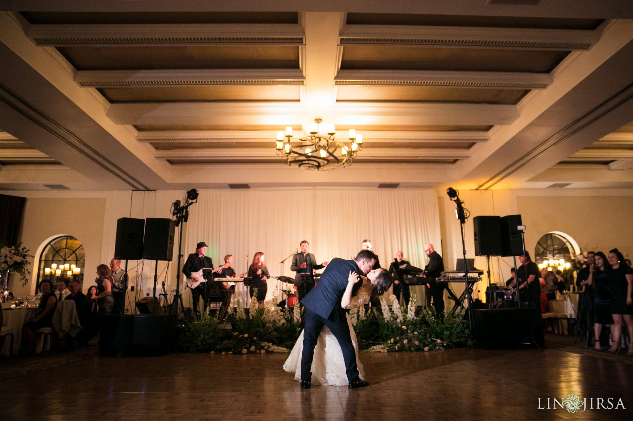 29 estancia la jolla hotel and spa wedding reception photography
