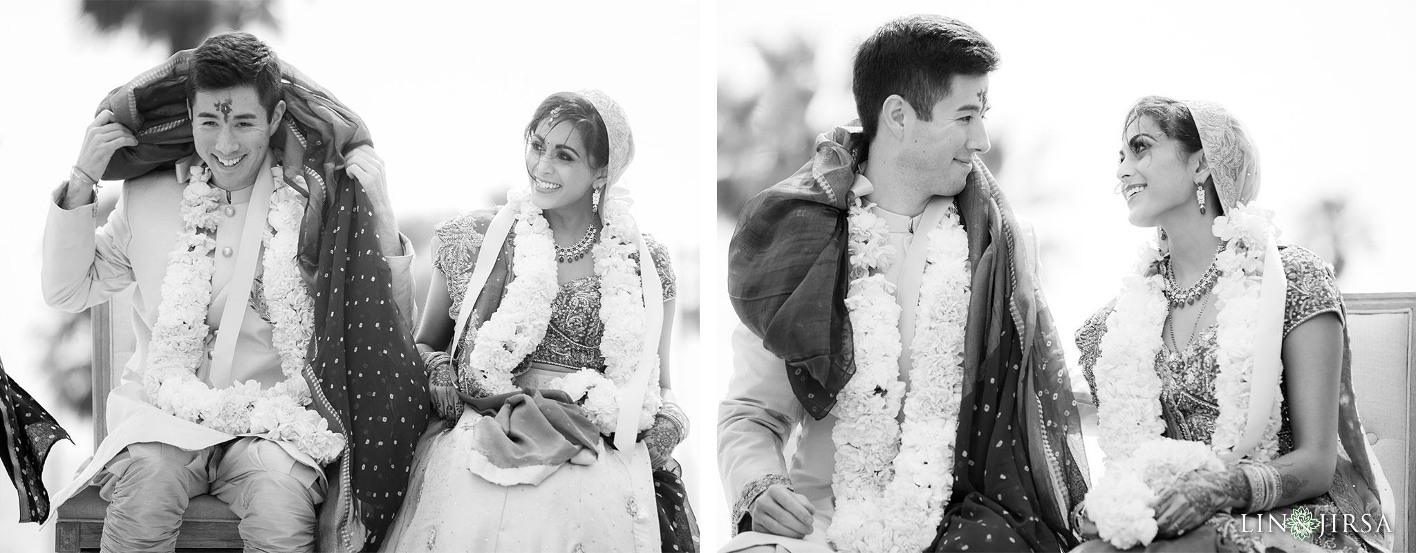 31 pasea hotel and spa huntington beach indian wedding ceremony photography
