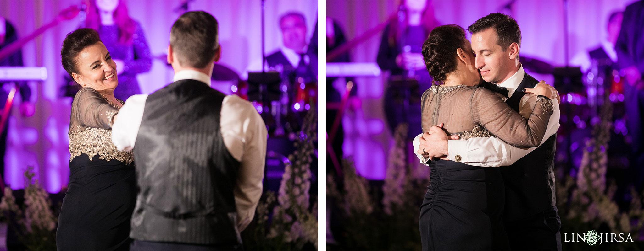 32 estancia la jolla hotel and spa wedding reception photography