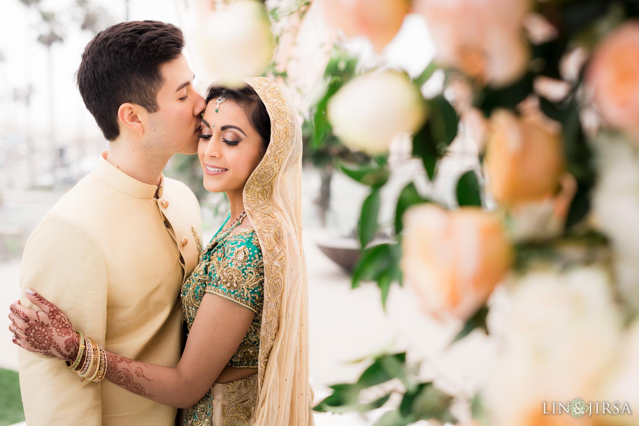 35 pasea hotel and spa huntington beach indian wedding photography