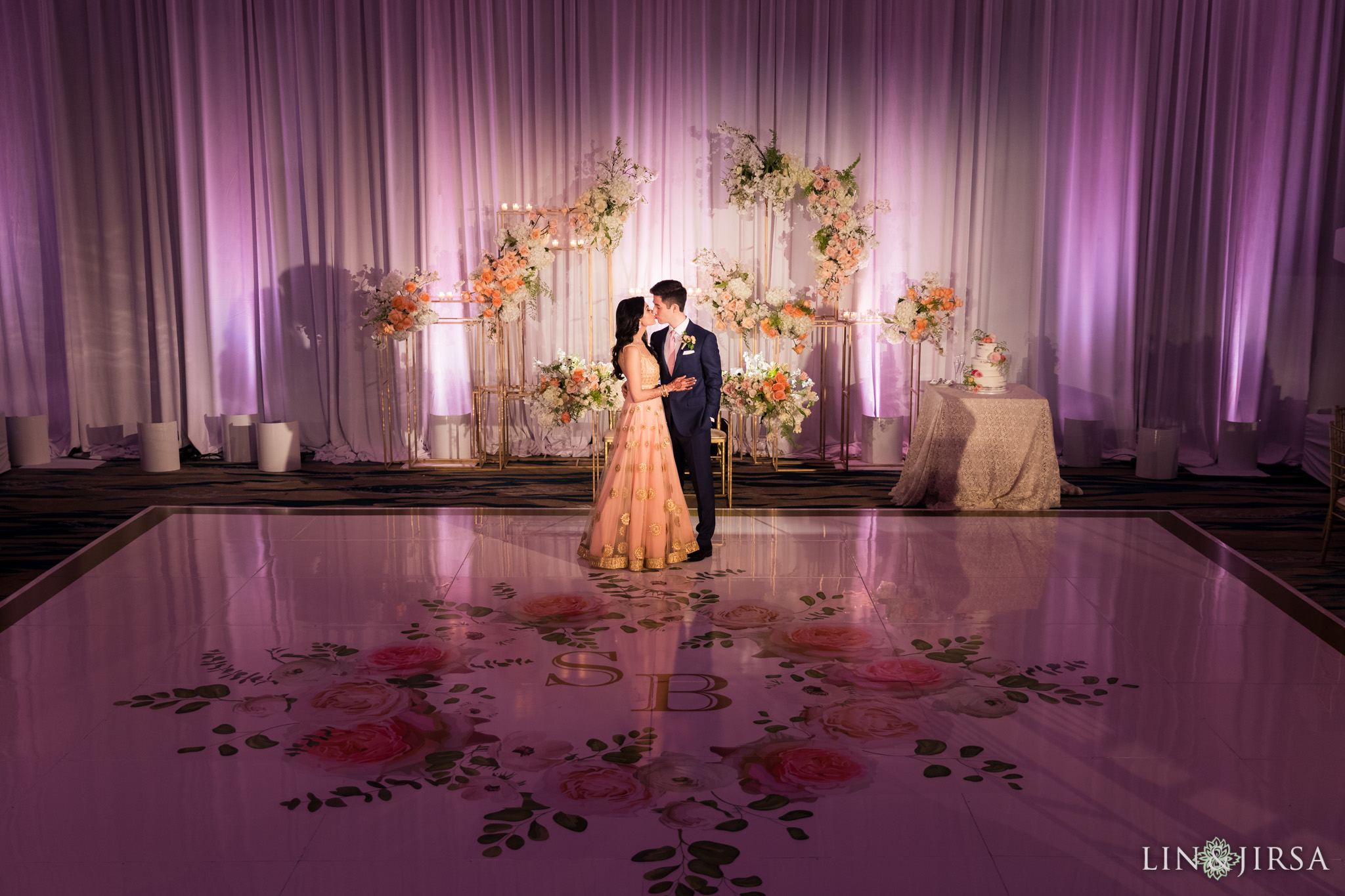 46 pasea hotel and spa huntington beach indian wedding reception photography