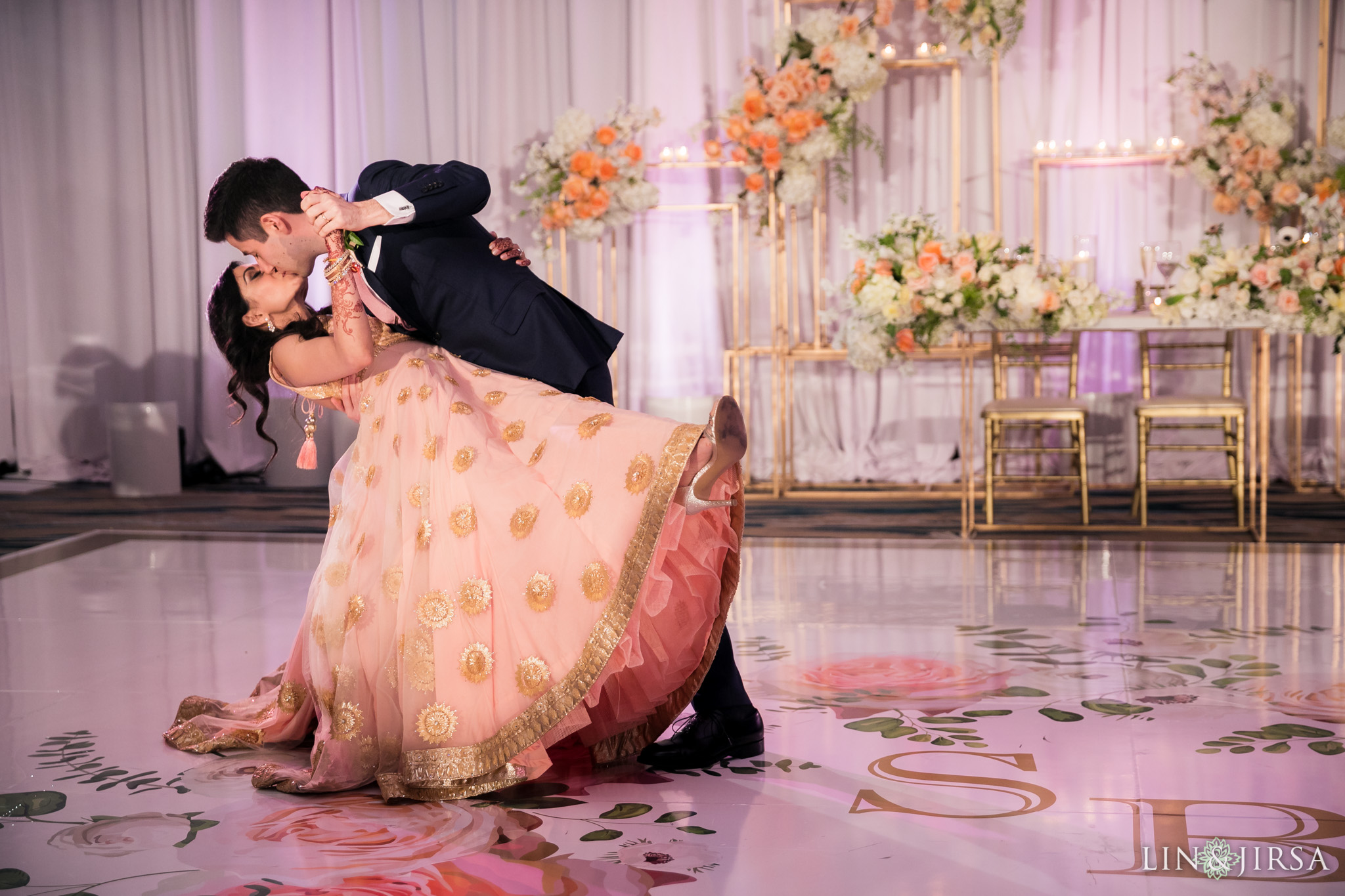 48 pasea hotel and spa huntington beach indian wedding reception photography