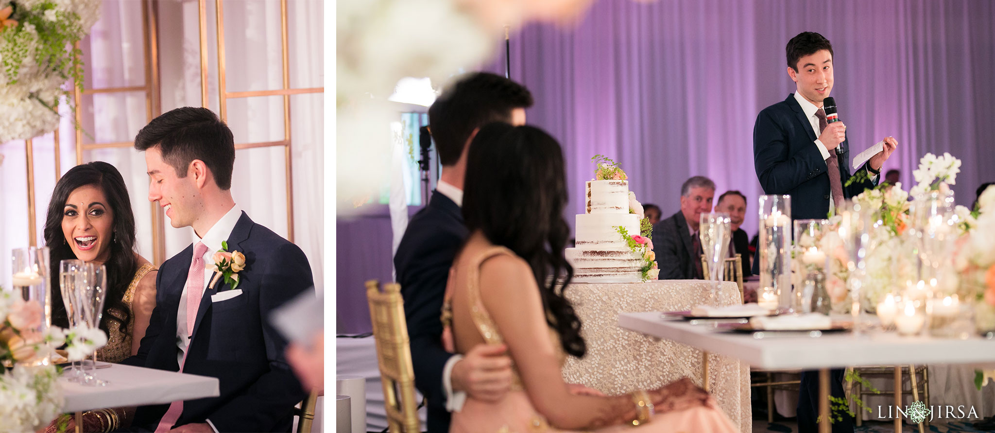 51 pasea hotel and spa huntington beach indian wedding reception photography