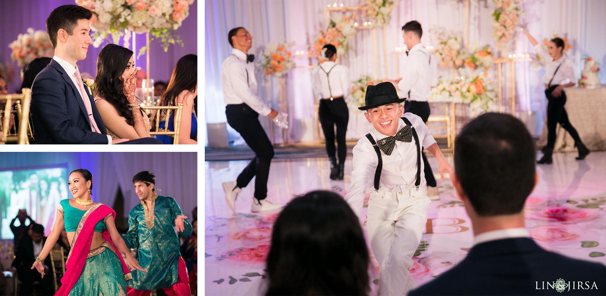 53 pasea hotel and spa huntington beach indian wedding reception photography