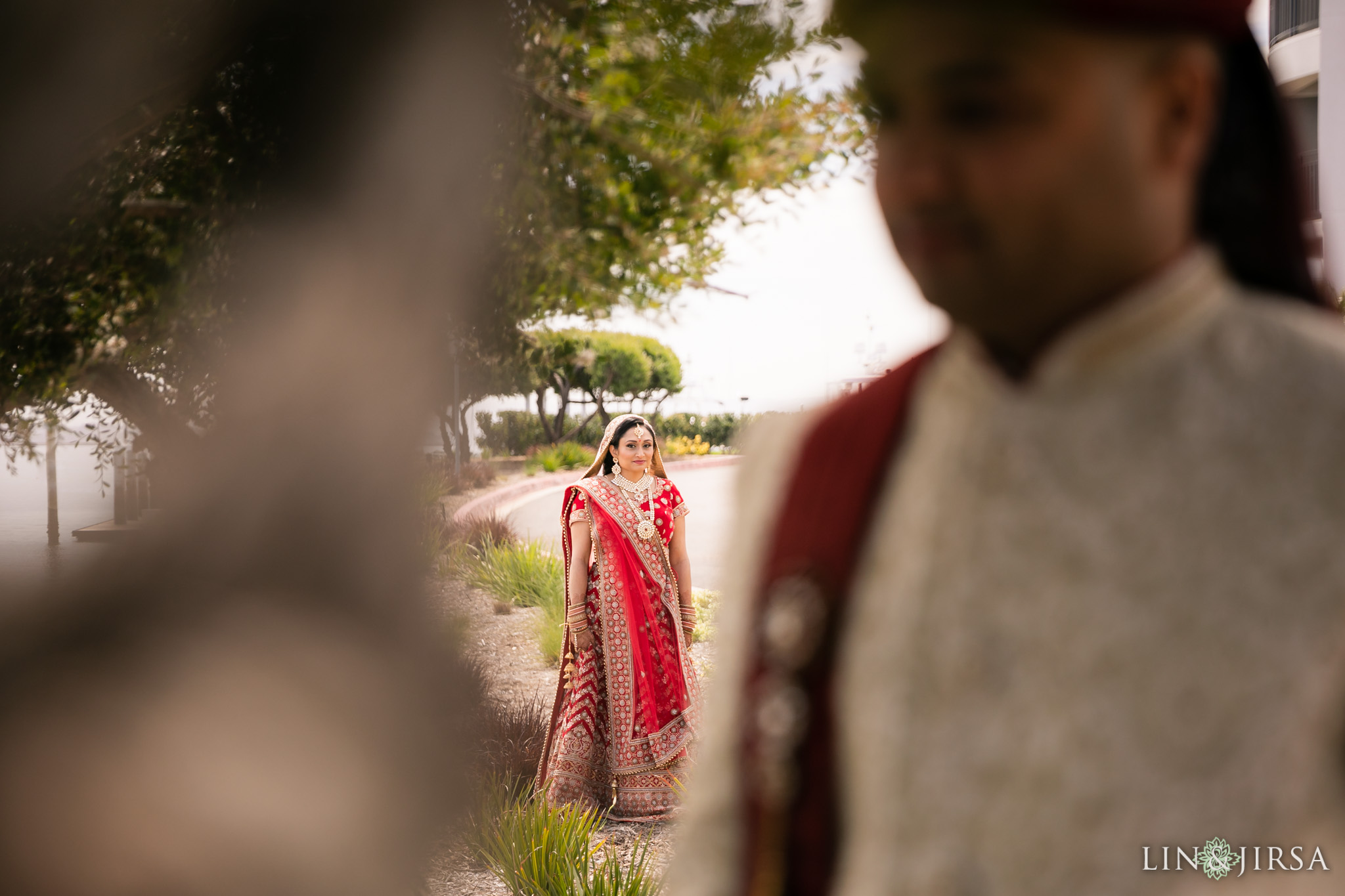 12 loews coronado bay resort indian first look wedding photography