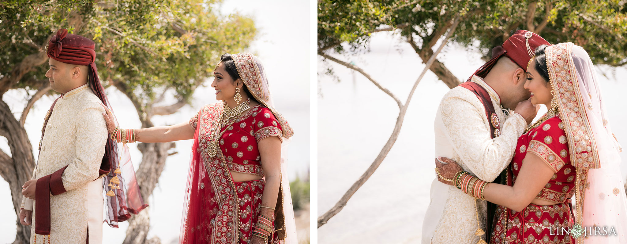 13 loews coronado bay resort indian first look wedding photography