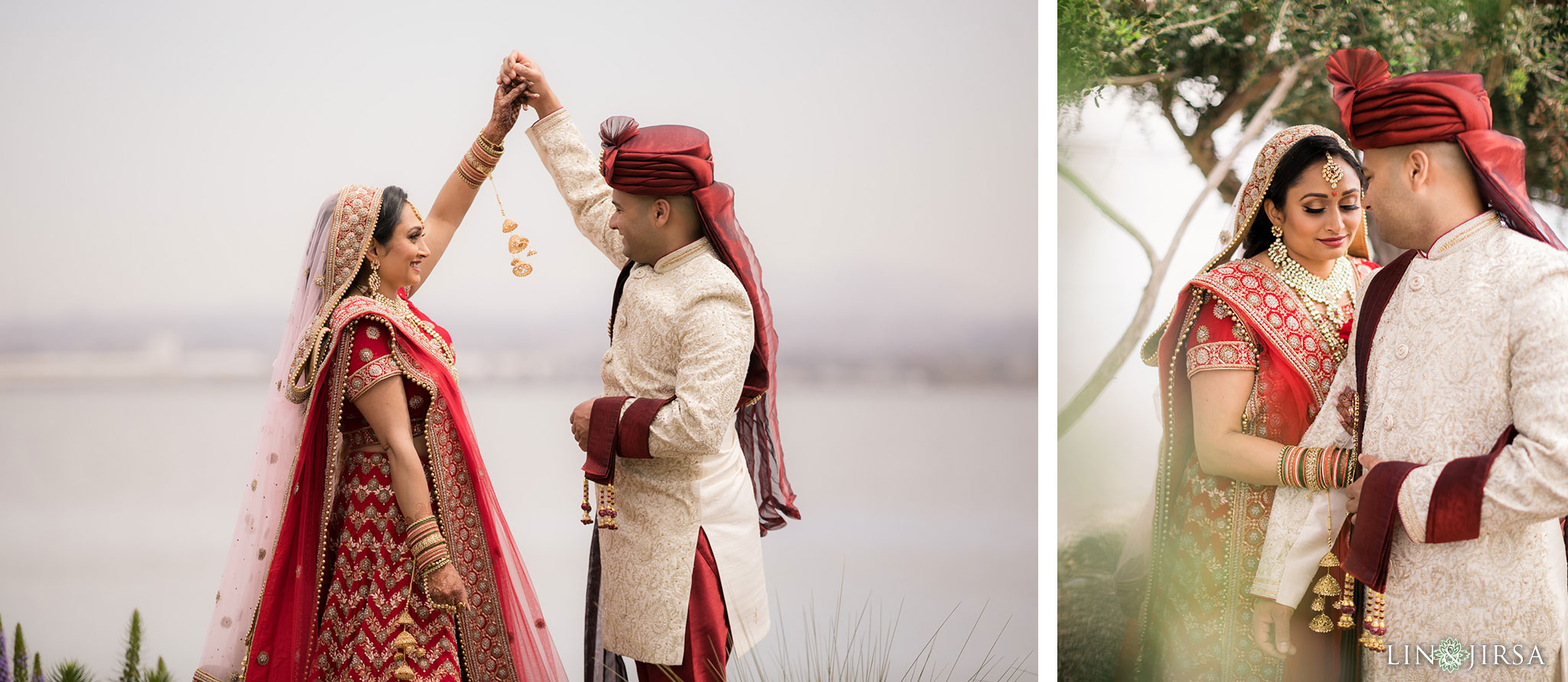 14 loews coronado bay resort indian first look wedding photography