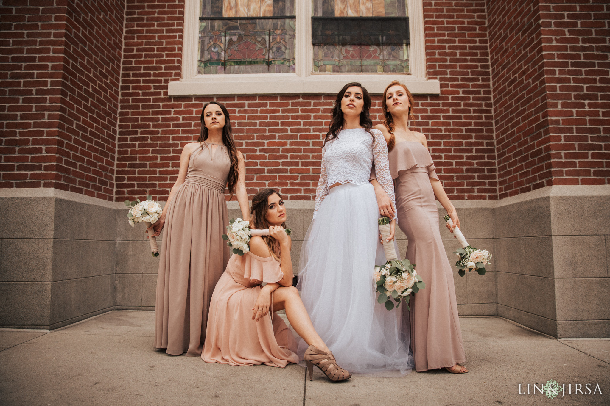 16 Womans Club Orange County Bridesmaids Wedding Photography