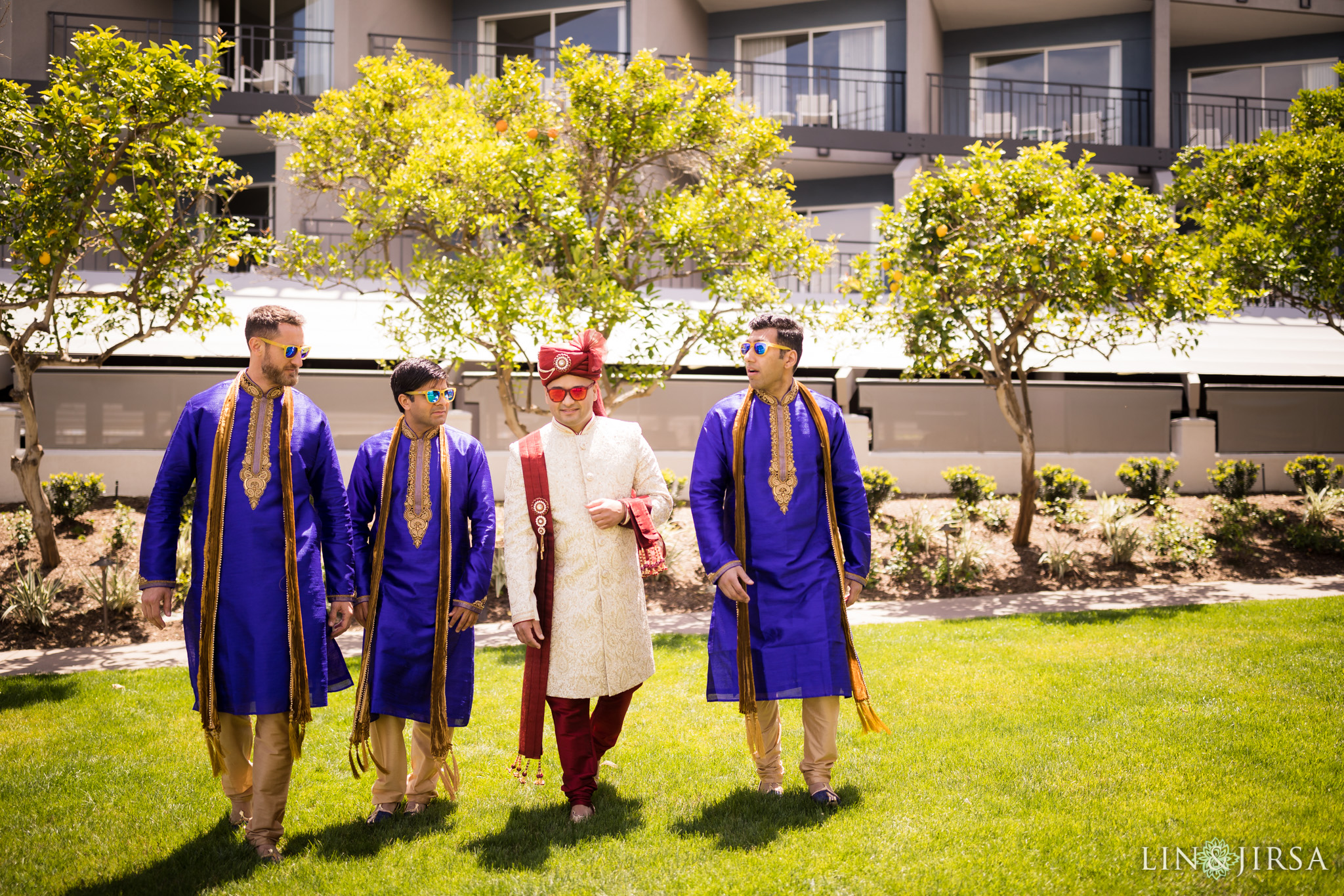 17 loews coronado bay resort indian wedding party photography