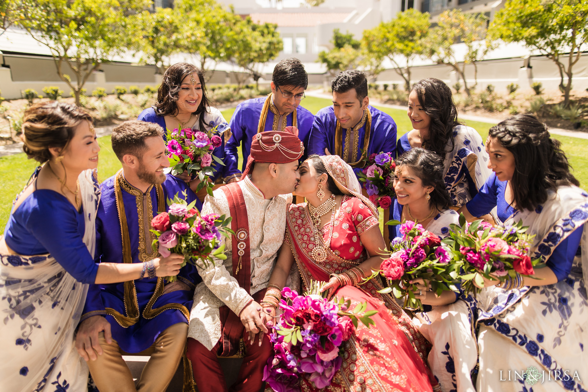 18 loews coronado bay resort indian wedding party photography
