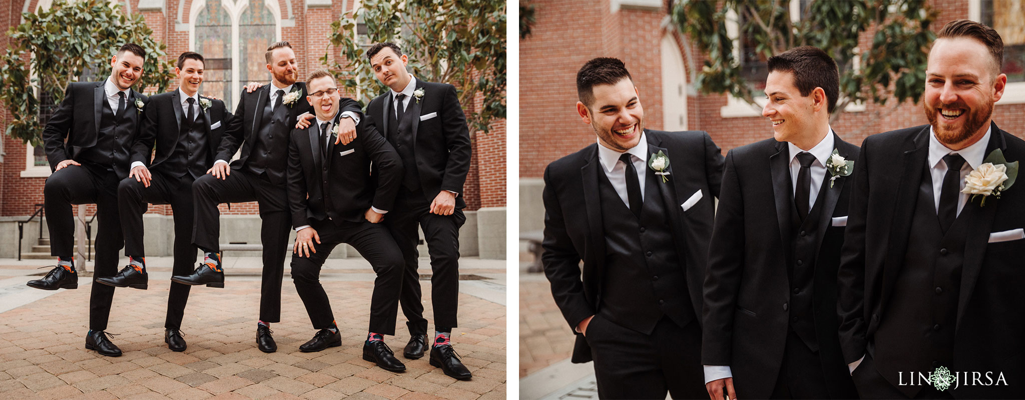 22 Womans Club Orange County Groomsmen Wedding Photography