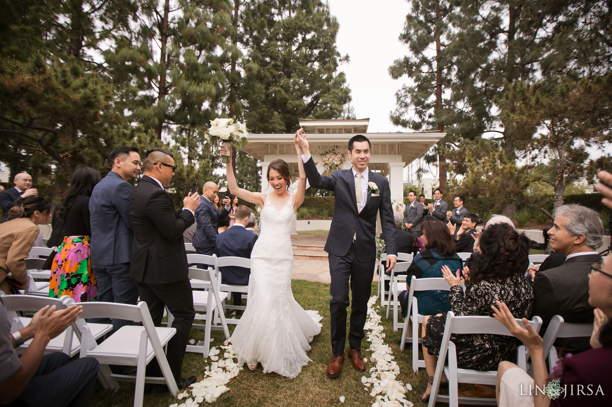 22 turnip rose promenade orange county wedding ceremony photography