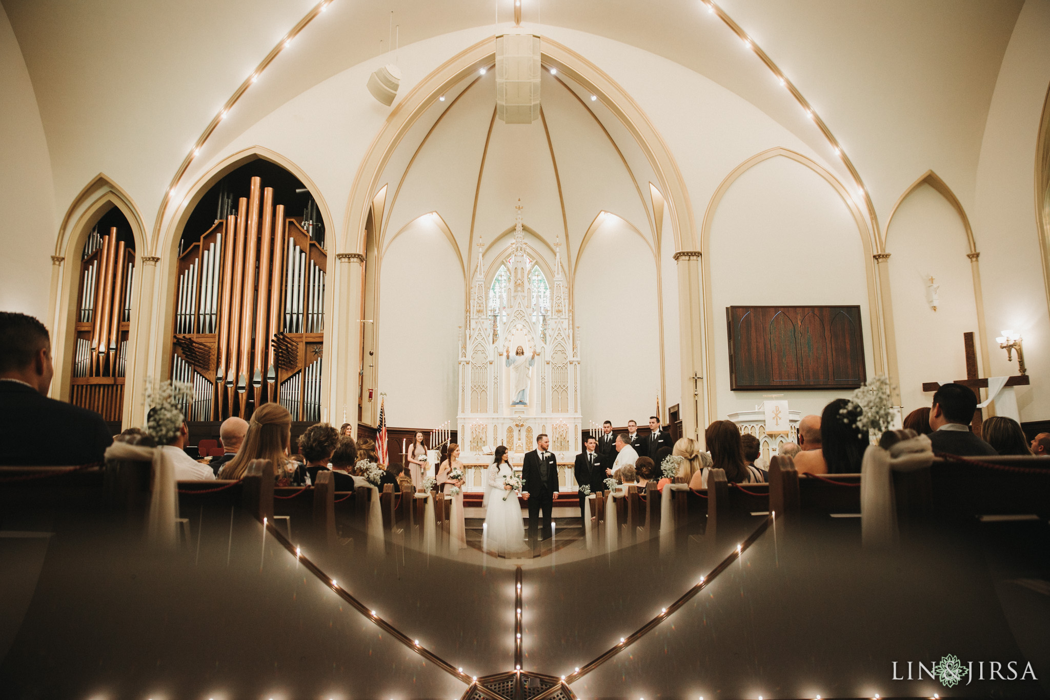 34 St Johns Lutheran Church Orange Wedding Ceremony Photography
