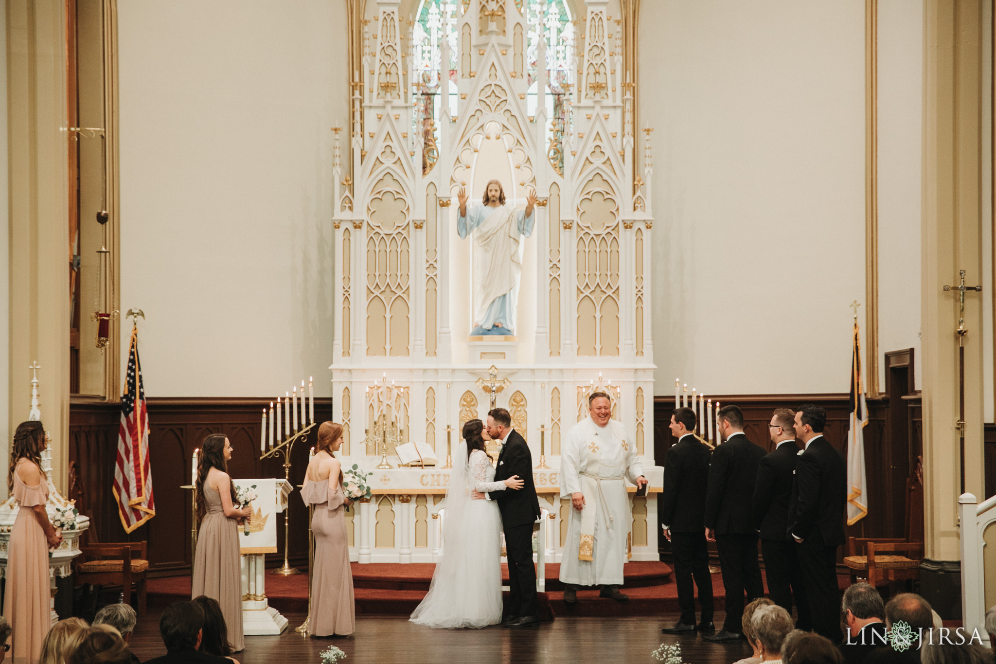 36 St Johns Lutheran Church Orange Wedding Ceremony Photography