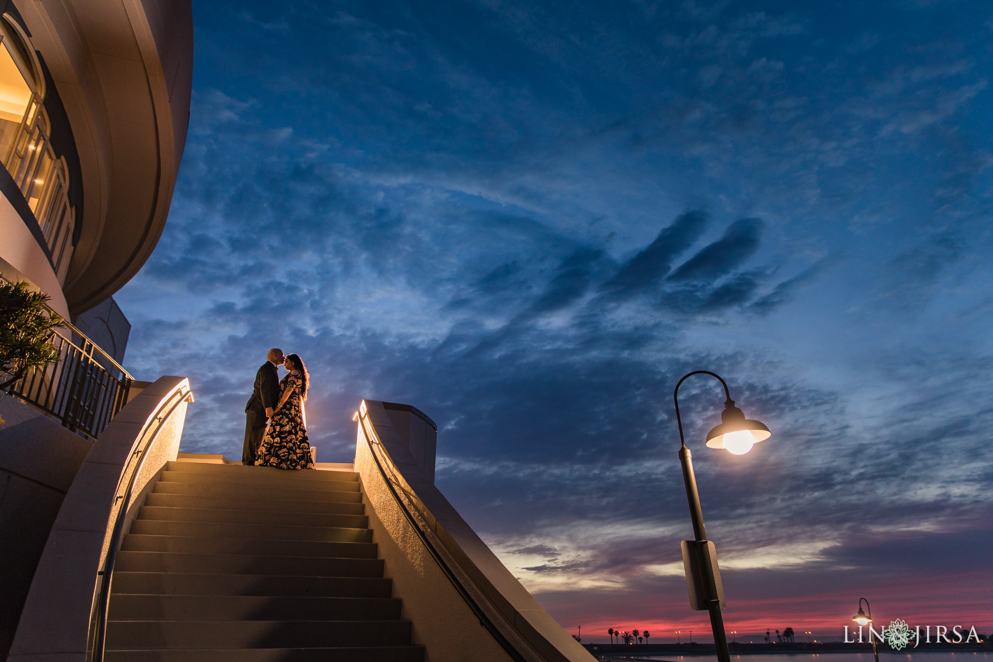 41 loews coronado bay resort indian wedding reception sunset photography