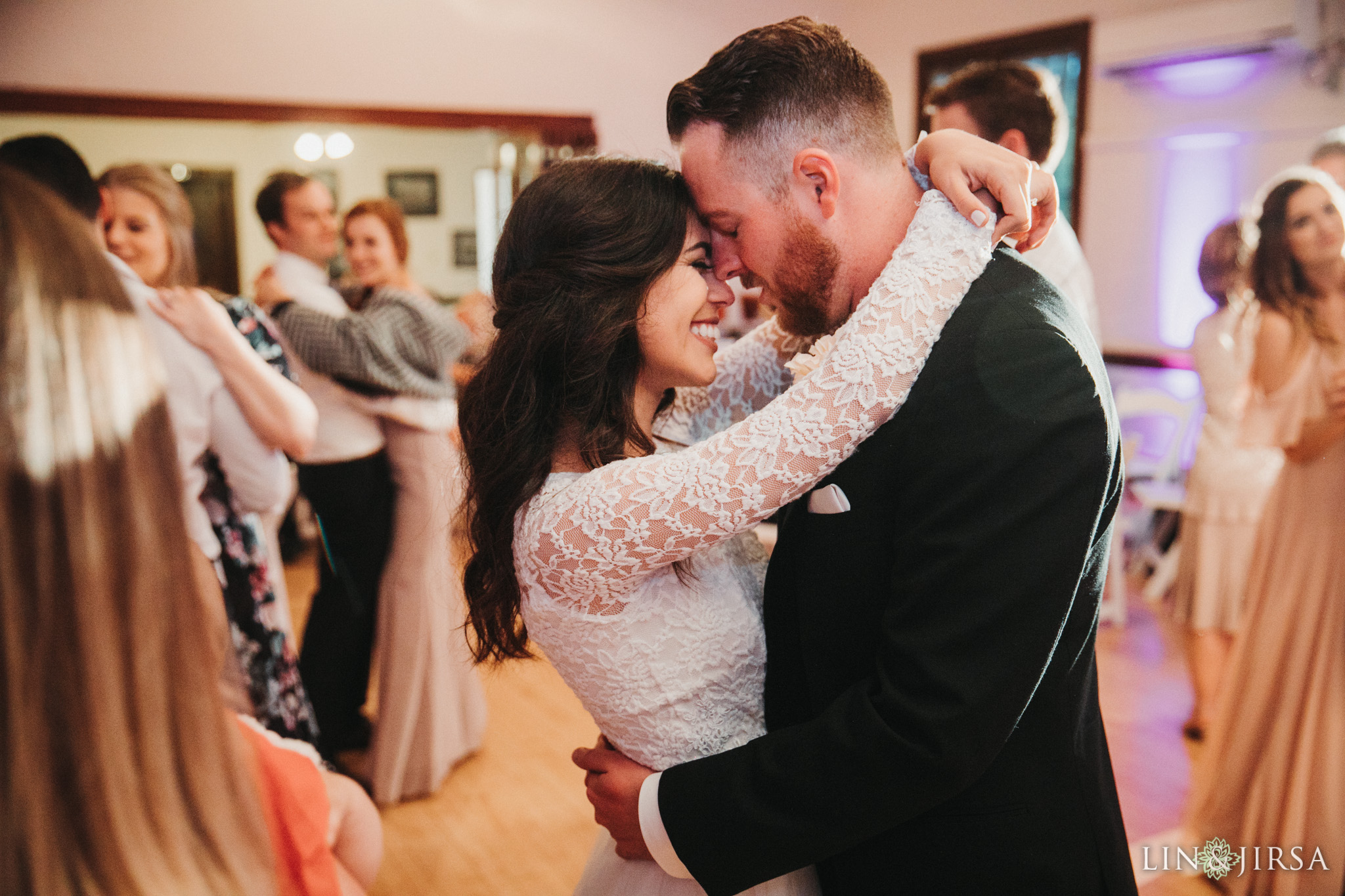 54 Womans Club Orange County Wedding Reception Photography