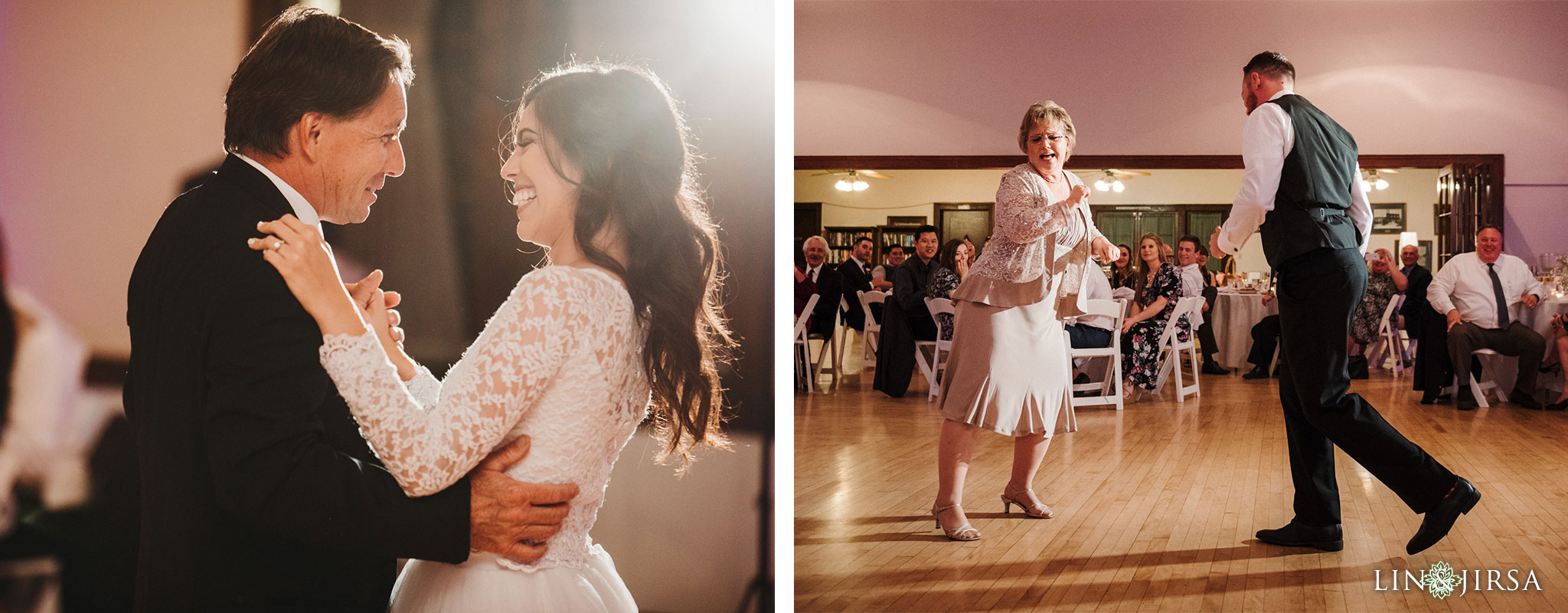 55 Womans Club Orange County Wedding Reception Photography