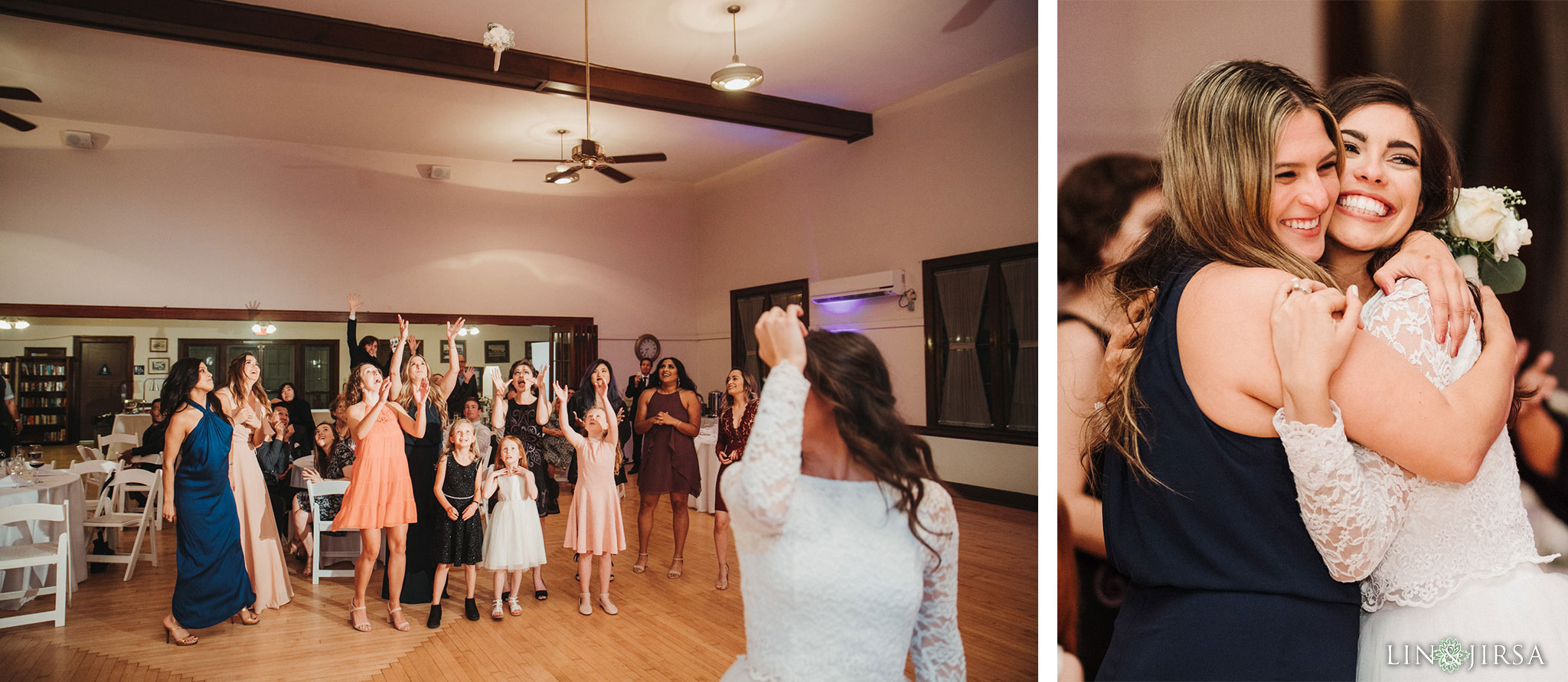 60 Womans Club Orange County Wedding Reception Photography