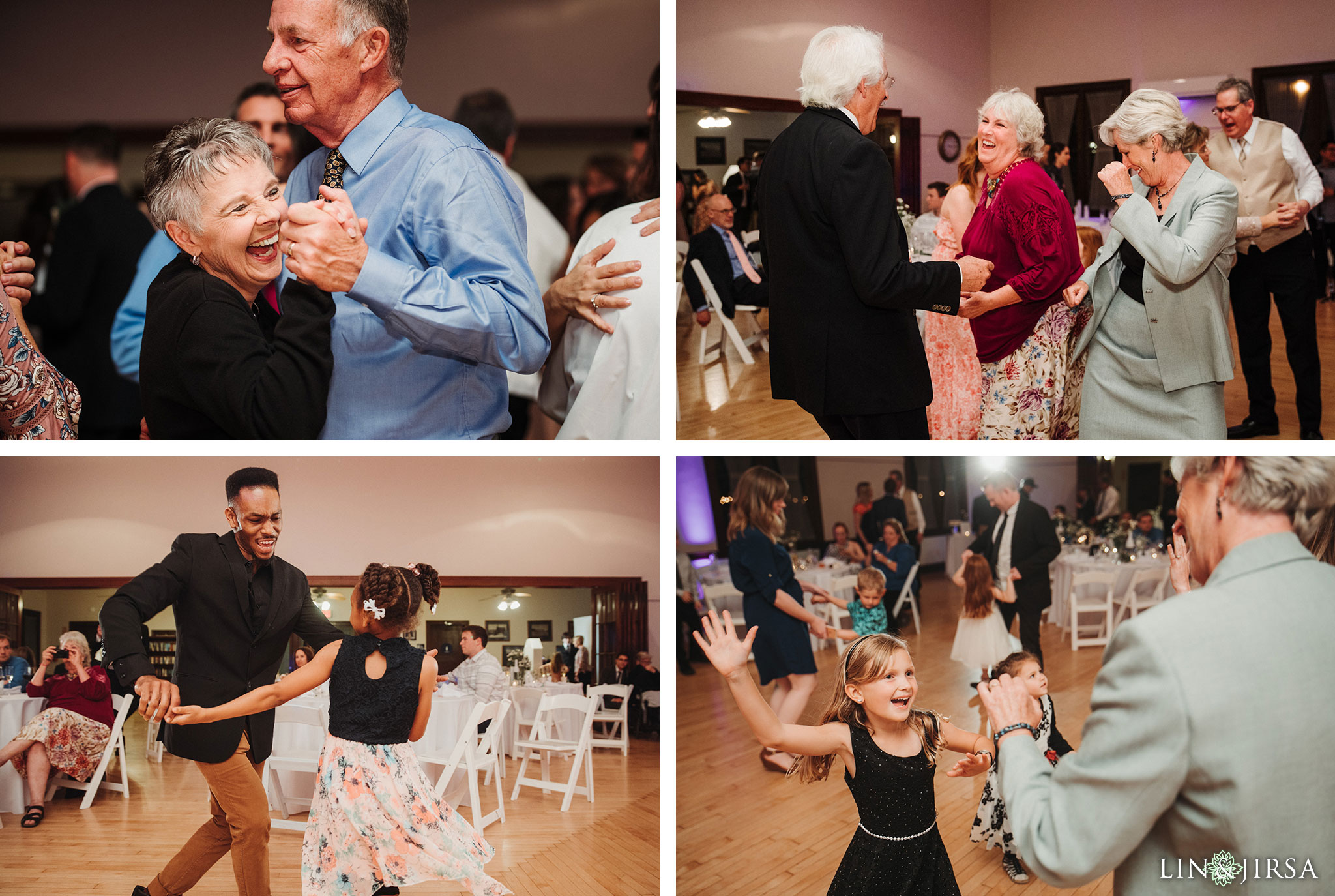 61 Womans Club Orange County Wedding Reception Photography