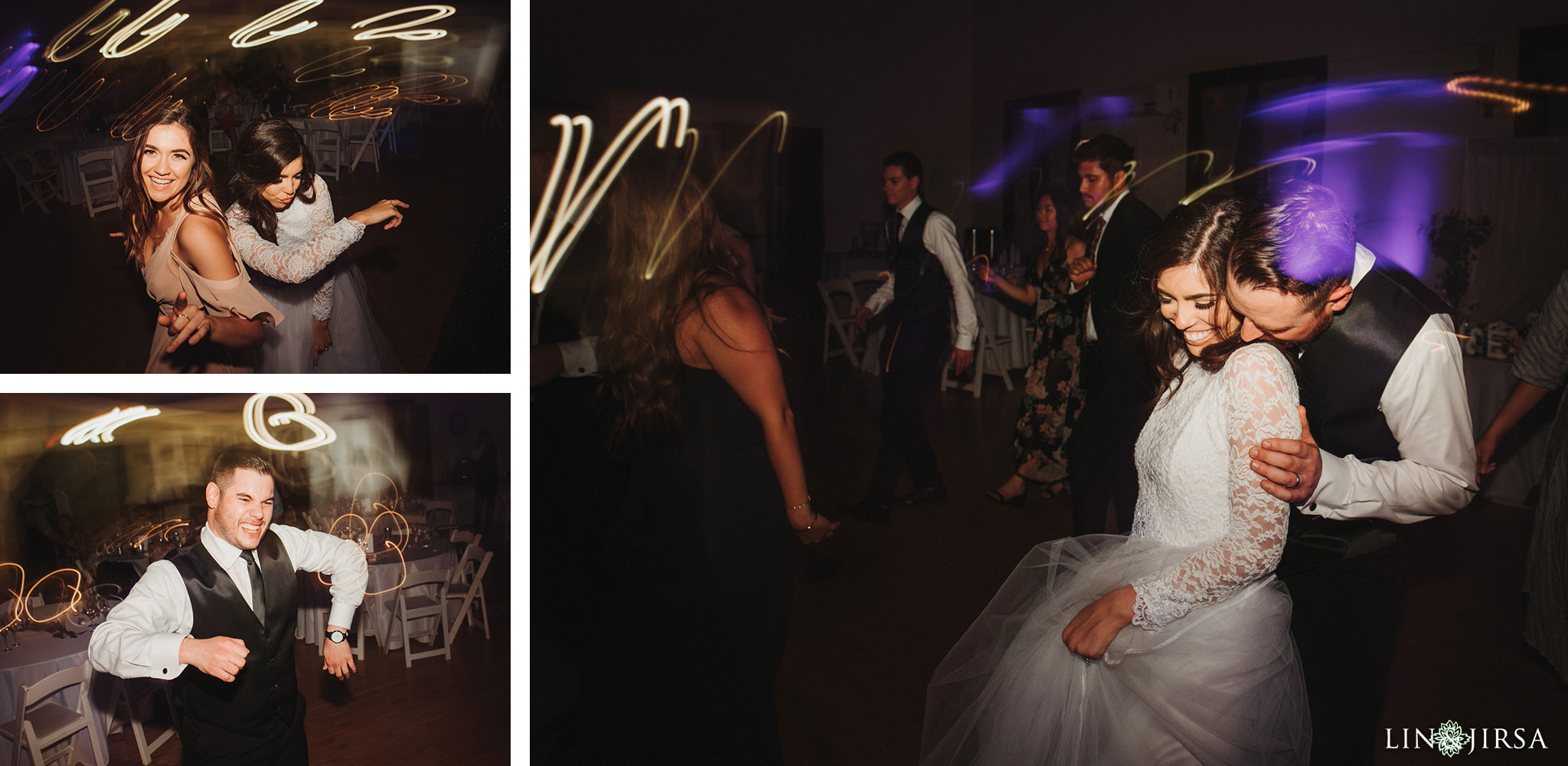 62 Womans Club Orange County Wedding Reception Photography