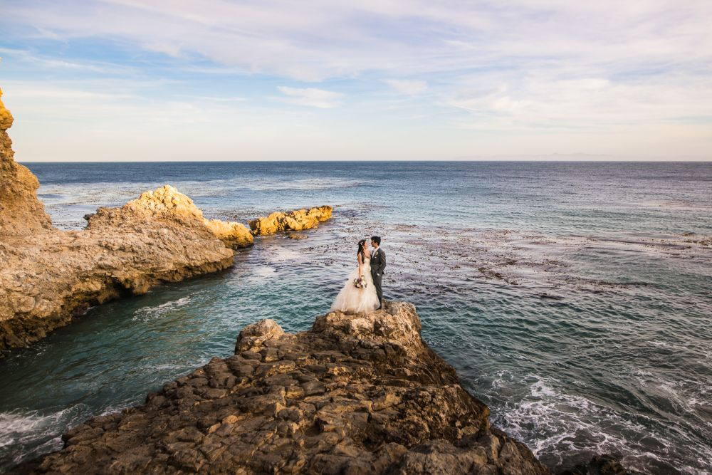 0 terranea resort rancho palos verdes beach cliff wedding photography