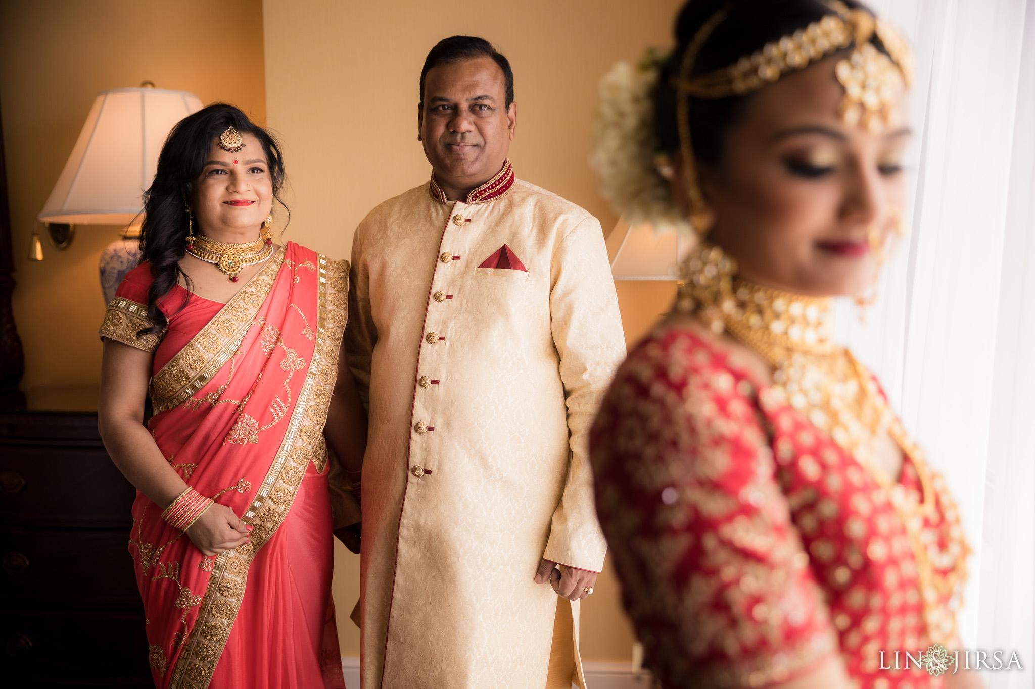 02 four seasons westlake village indian bride parents wedding photography