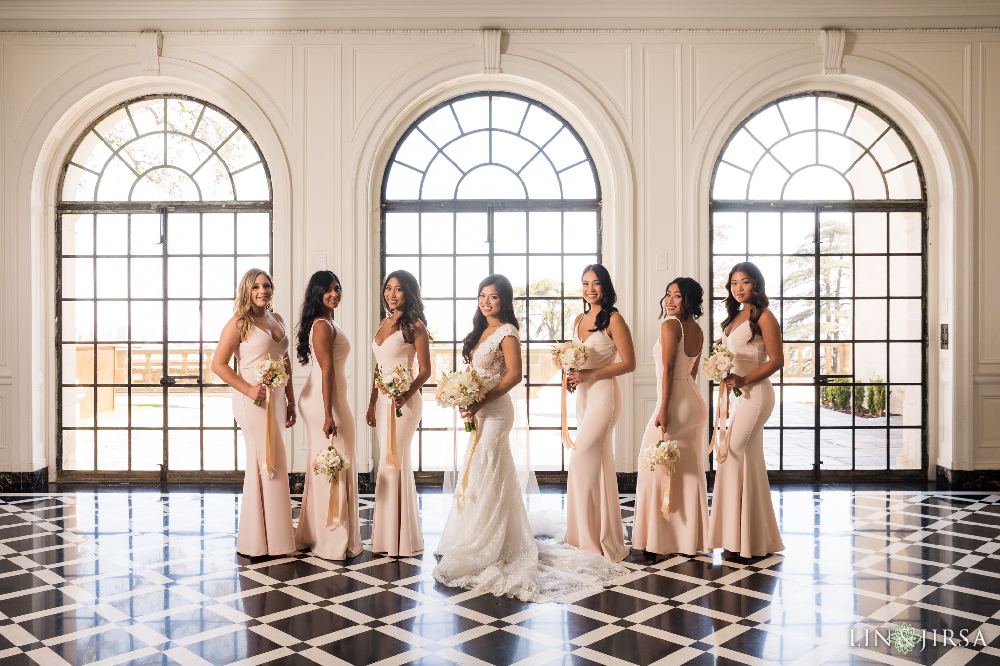 08 greystone mansion los angeles bridesmaids wedding photography