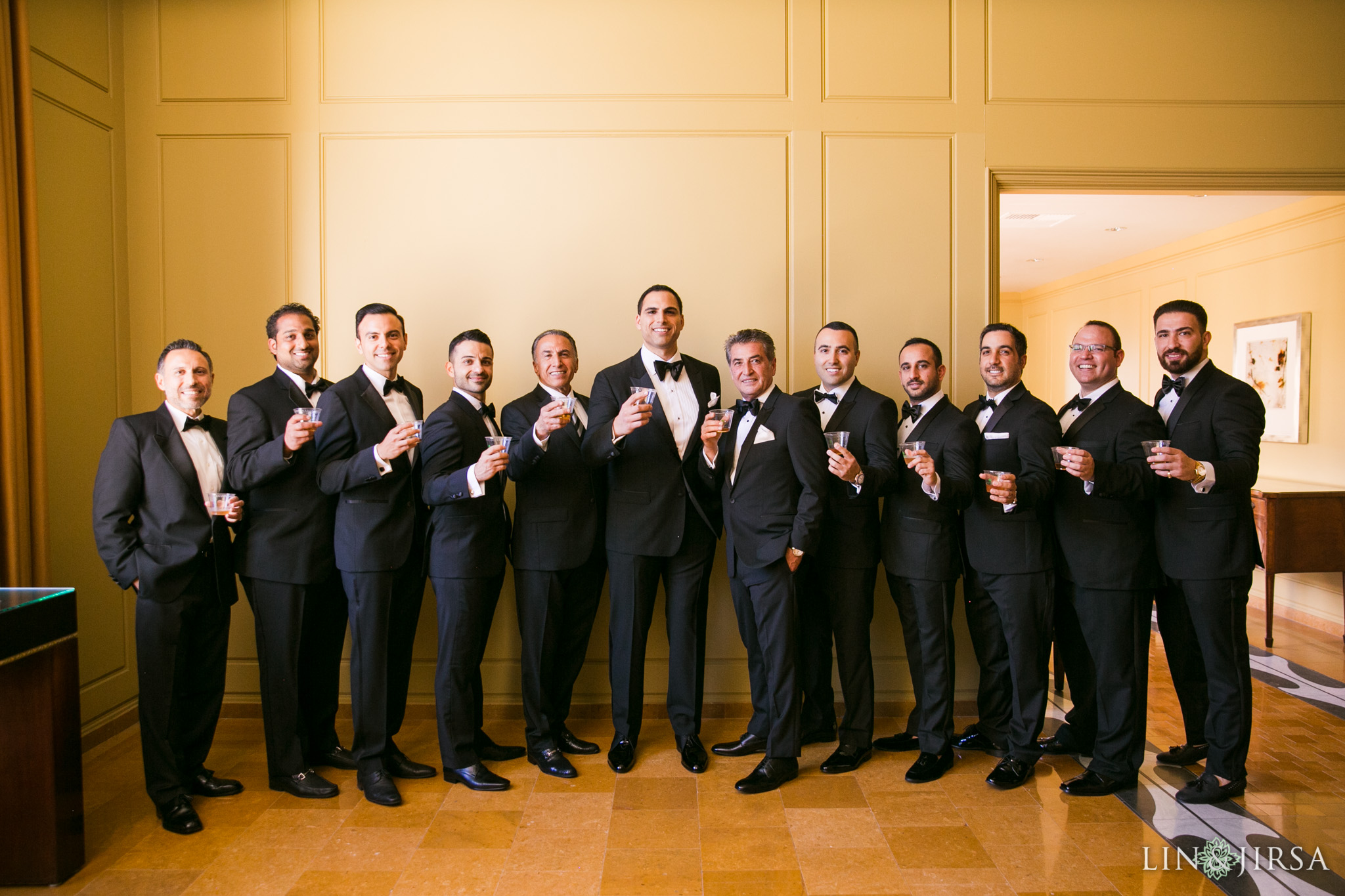 08 ritz carlton laguna niguel persian groomsmen wedding photography