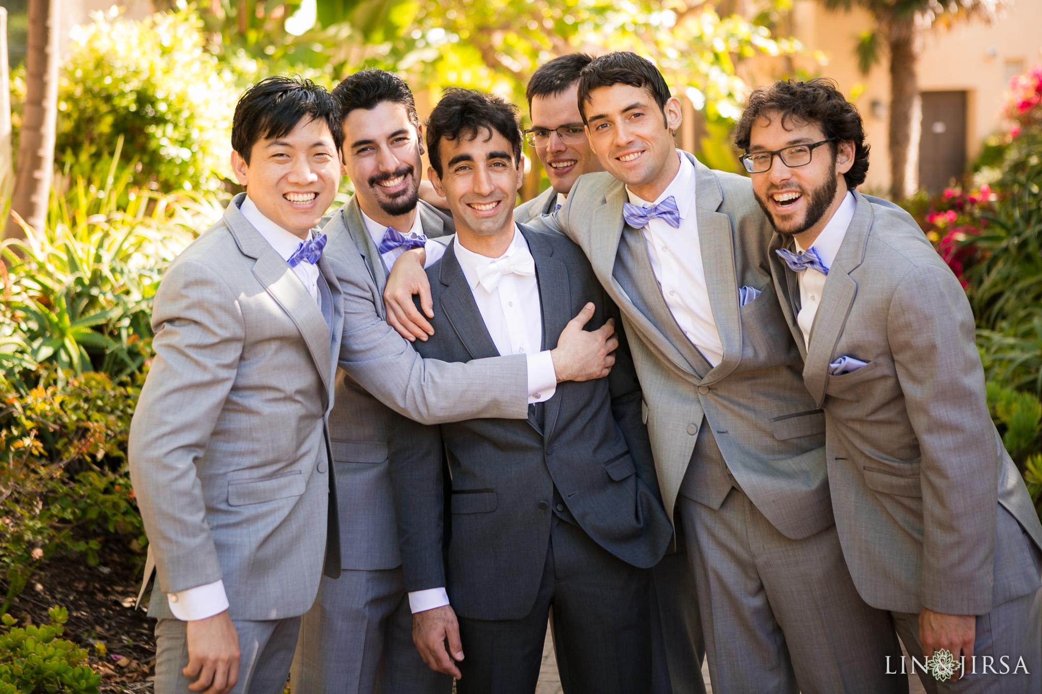 12 terranea resort rancho palos verdes groomsmen wedding photography