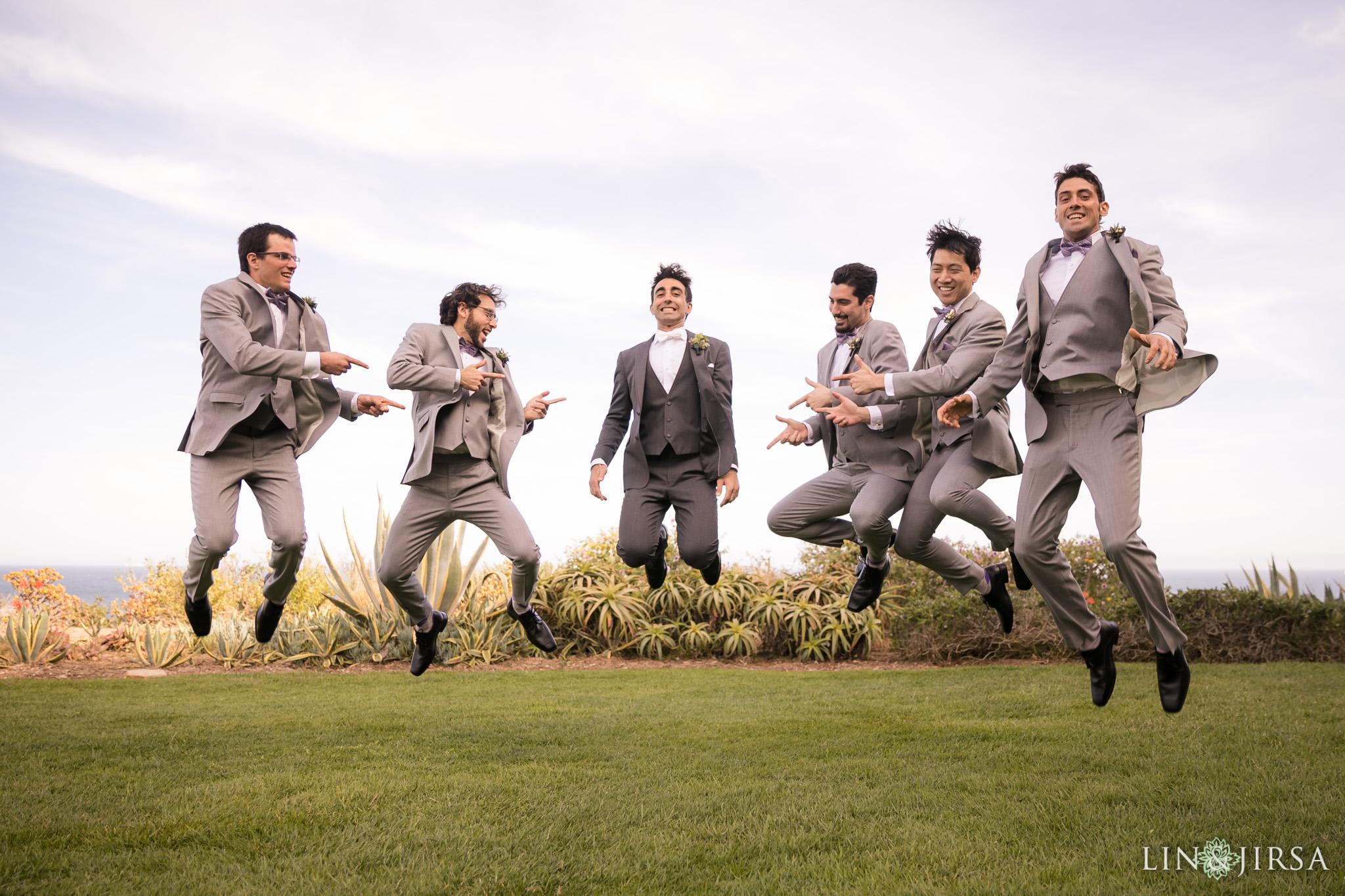 13 terranea resort rancho palos verdes groomsmen wedding photography