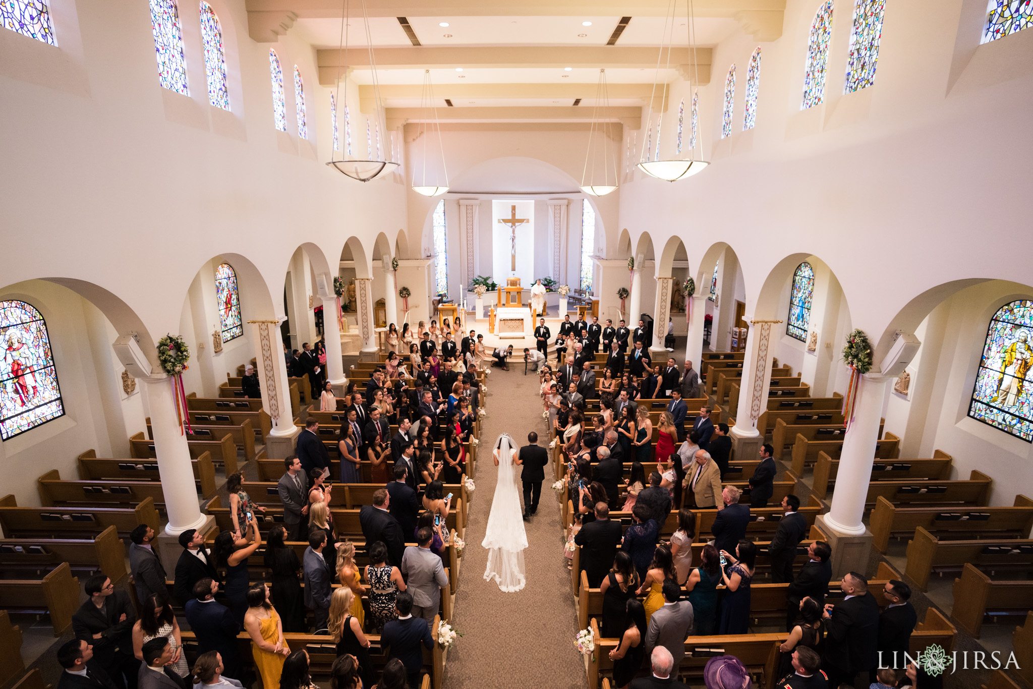 15 good shepherd catholic church los angeles wedding ceremony photography