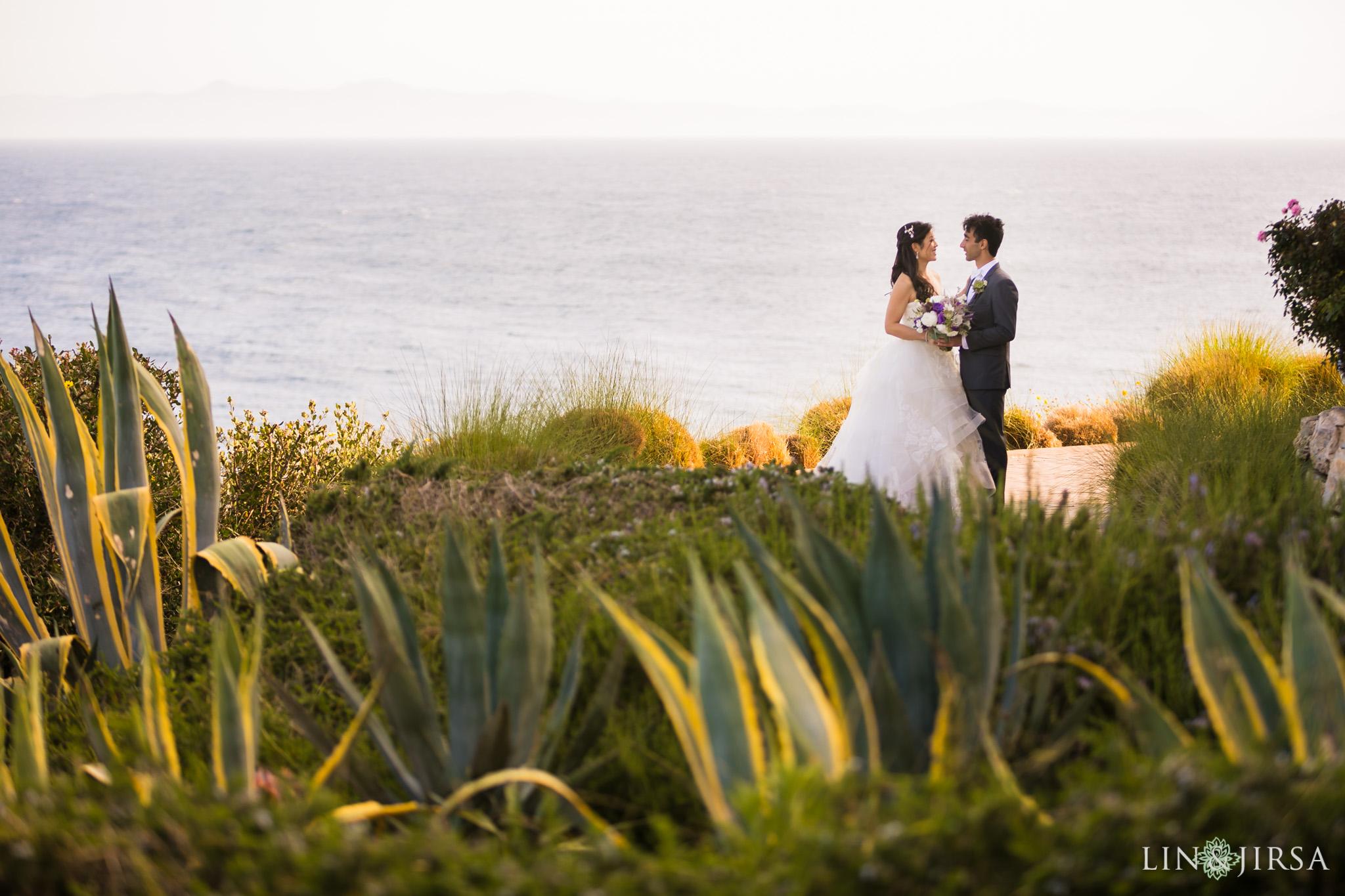15 terranea resort rancho palos verdes first look wedding photography