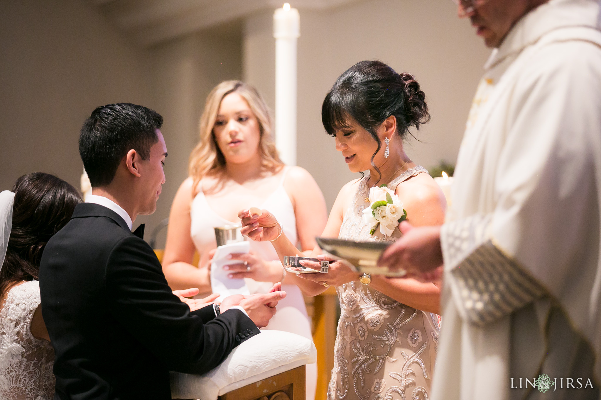18 good shepherd catholic church los angeles wedding ceremony photography